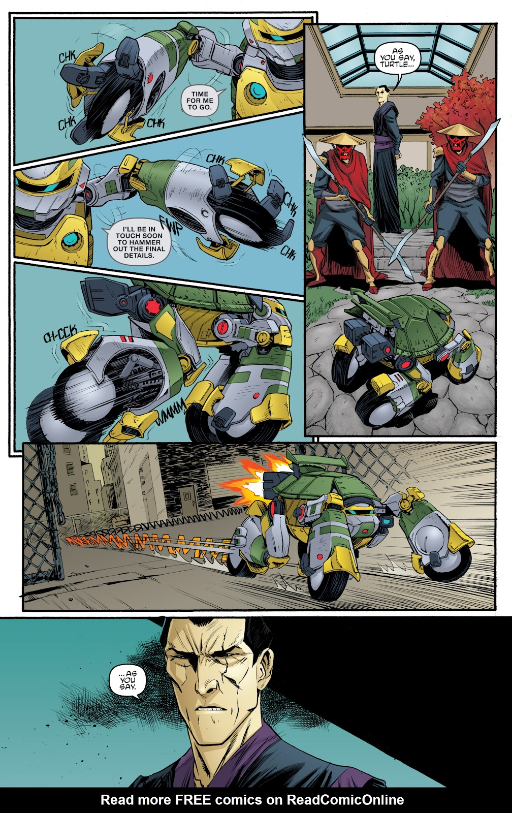 Read online Teenage Mutant Ninja Turtles: The IDW Collection comic -  Issue # TPB 5 (Part 3) - 69