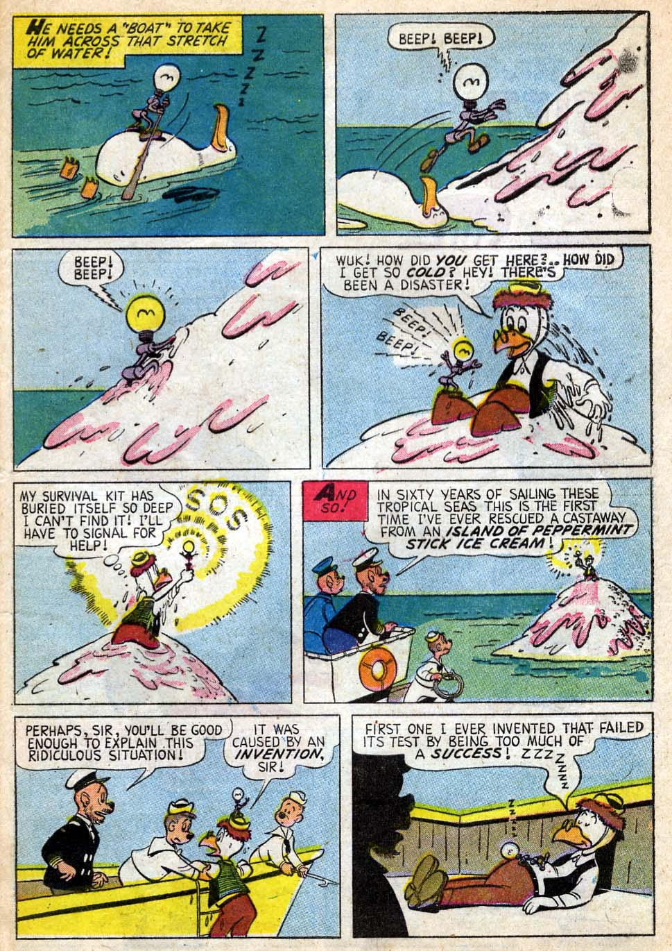 Read online Uncle Scrooge (1953) comic -  Issue #35 - 29