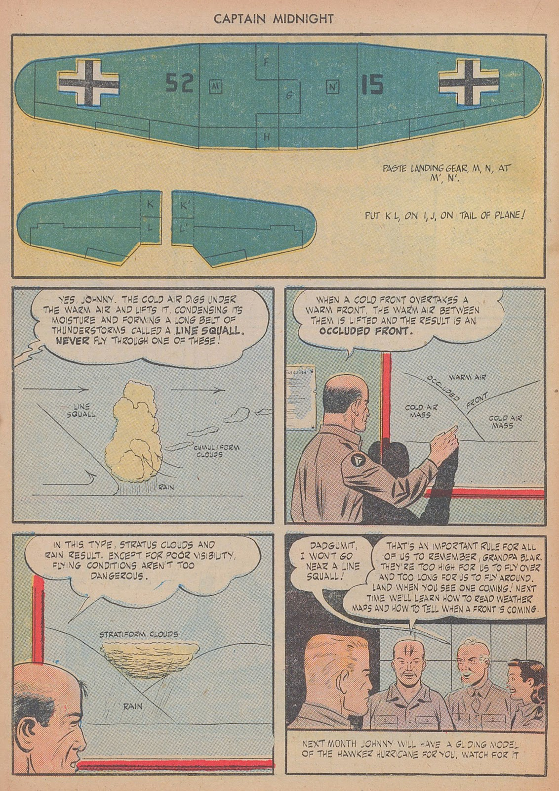 Captain Midnight (1942) issue 29 - Page 22