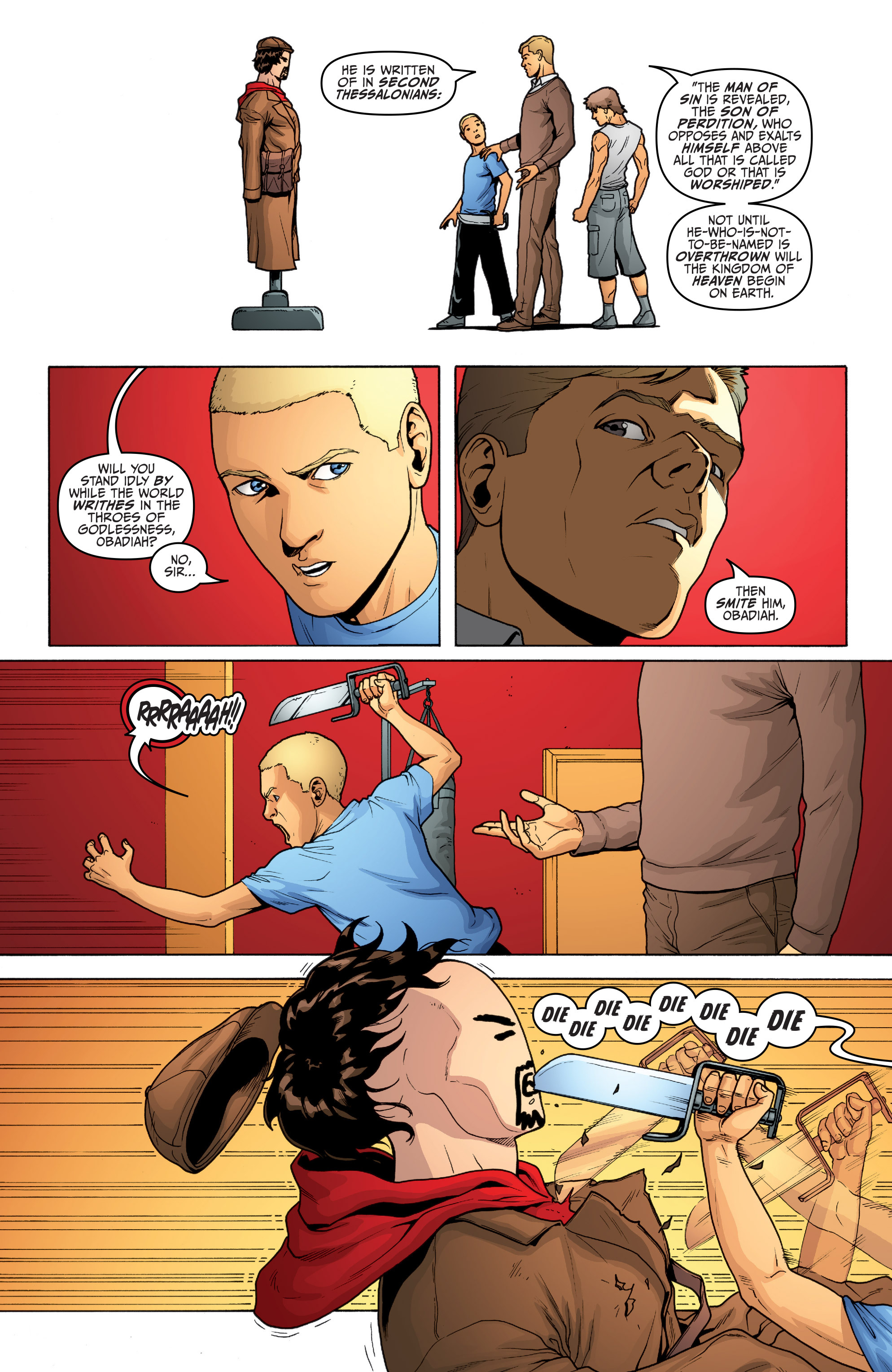 Read online Archer and Armstrong comic -  Issue #Archer and Armstrong _TPB 5 - 19