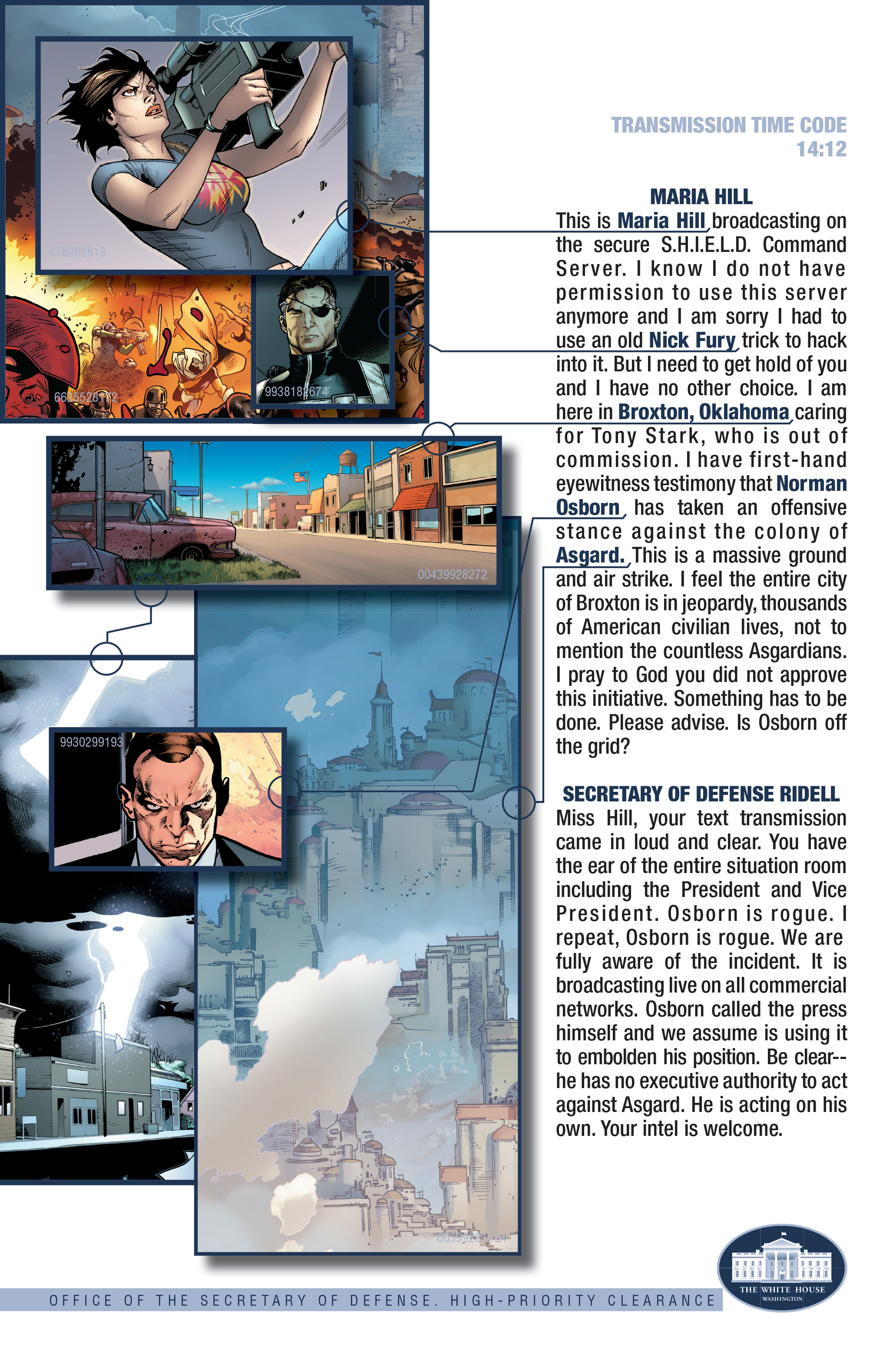 Read online Siege (2010) comic -  Issue #3 - 24