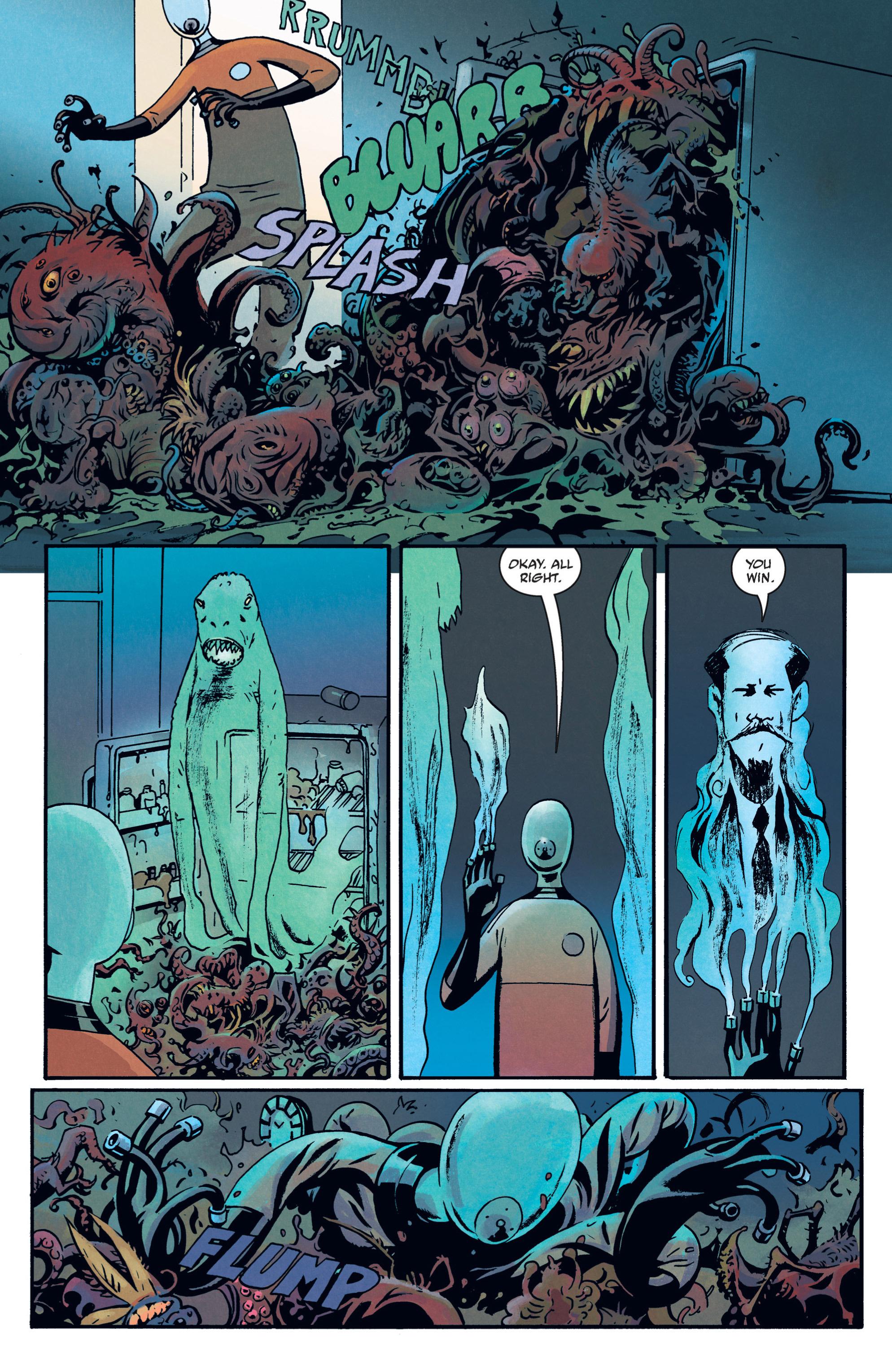 Read online B.P.R.D. (2003) comic -  Issue # TPB 12 - 99