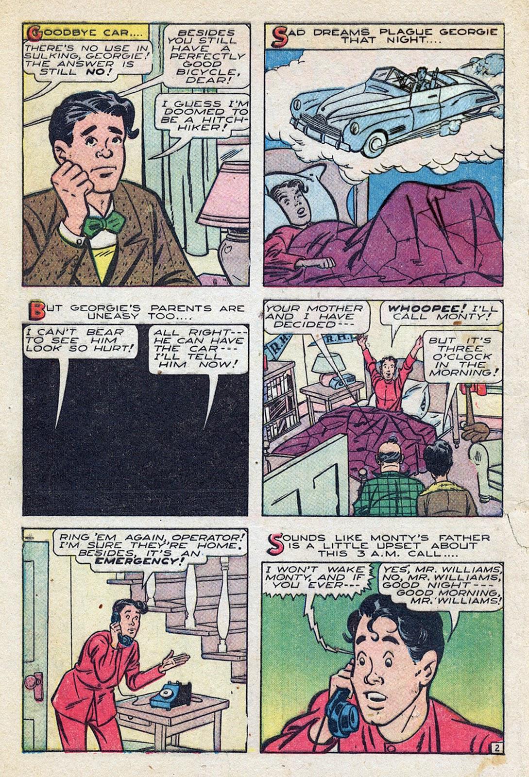 Georgie Comics (1945) issue 4 - Page 4