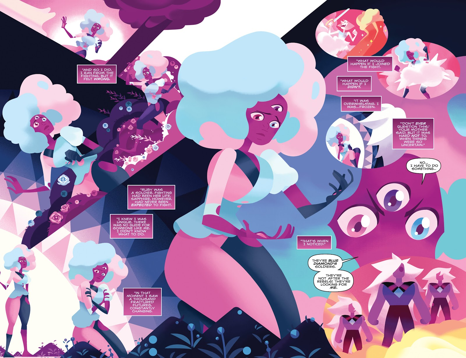 Read online Steven Universe: Fusion Frenzy comic -  Issue # Full - 14