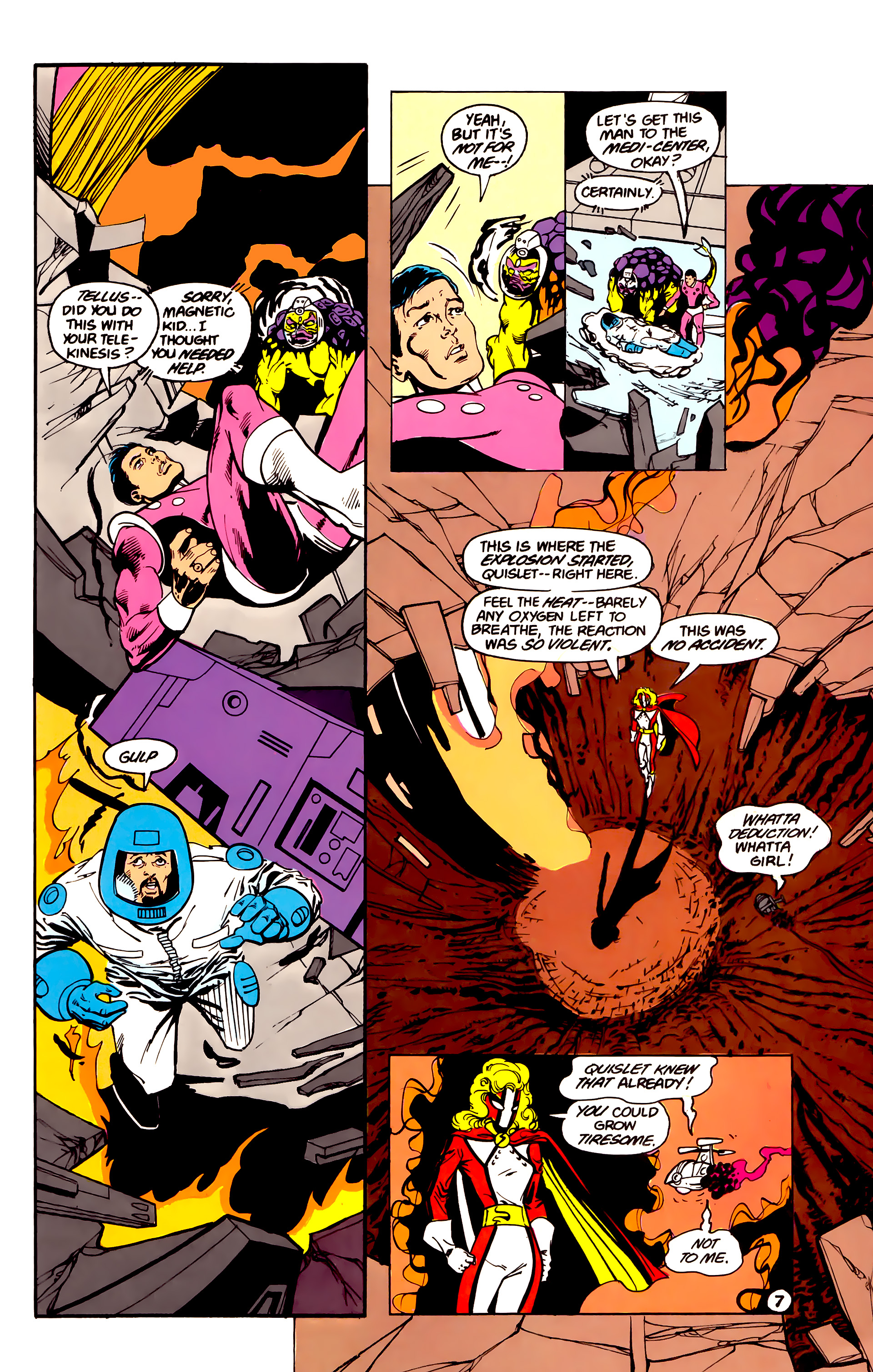 Legion of Super-Heroes (1984) 16 Page 8