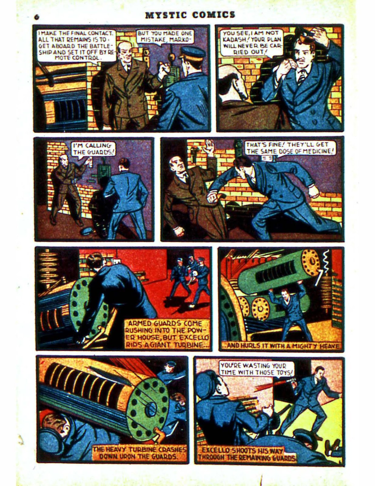 Mystic Comics (1940) issue 2 - Page 8