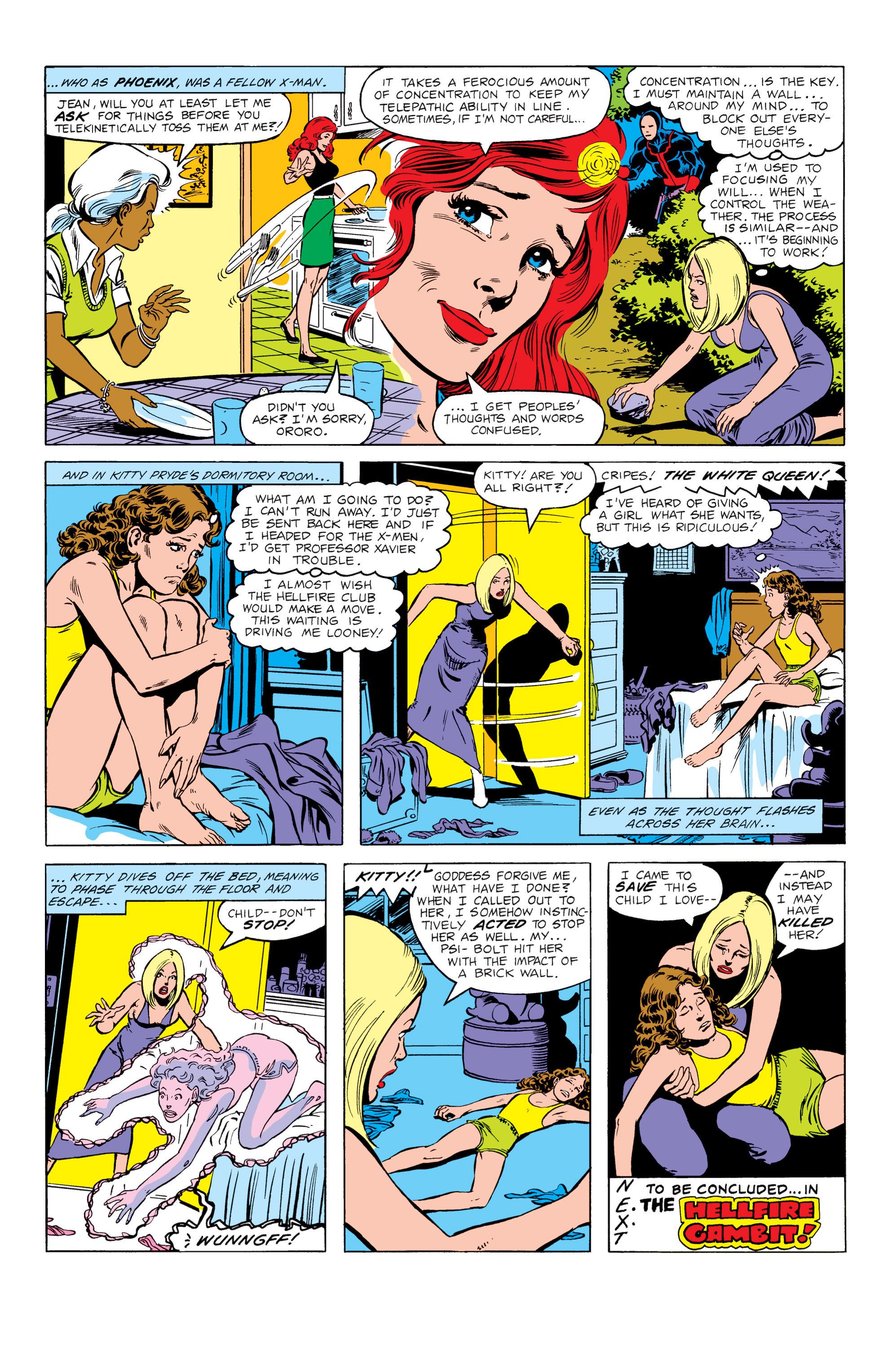 Read online Uncanny X-Men (1963) comic -  Issue #151 - 22