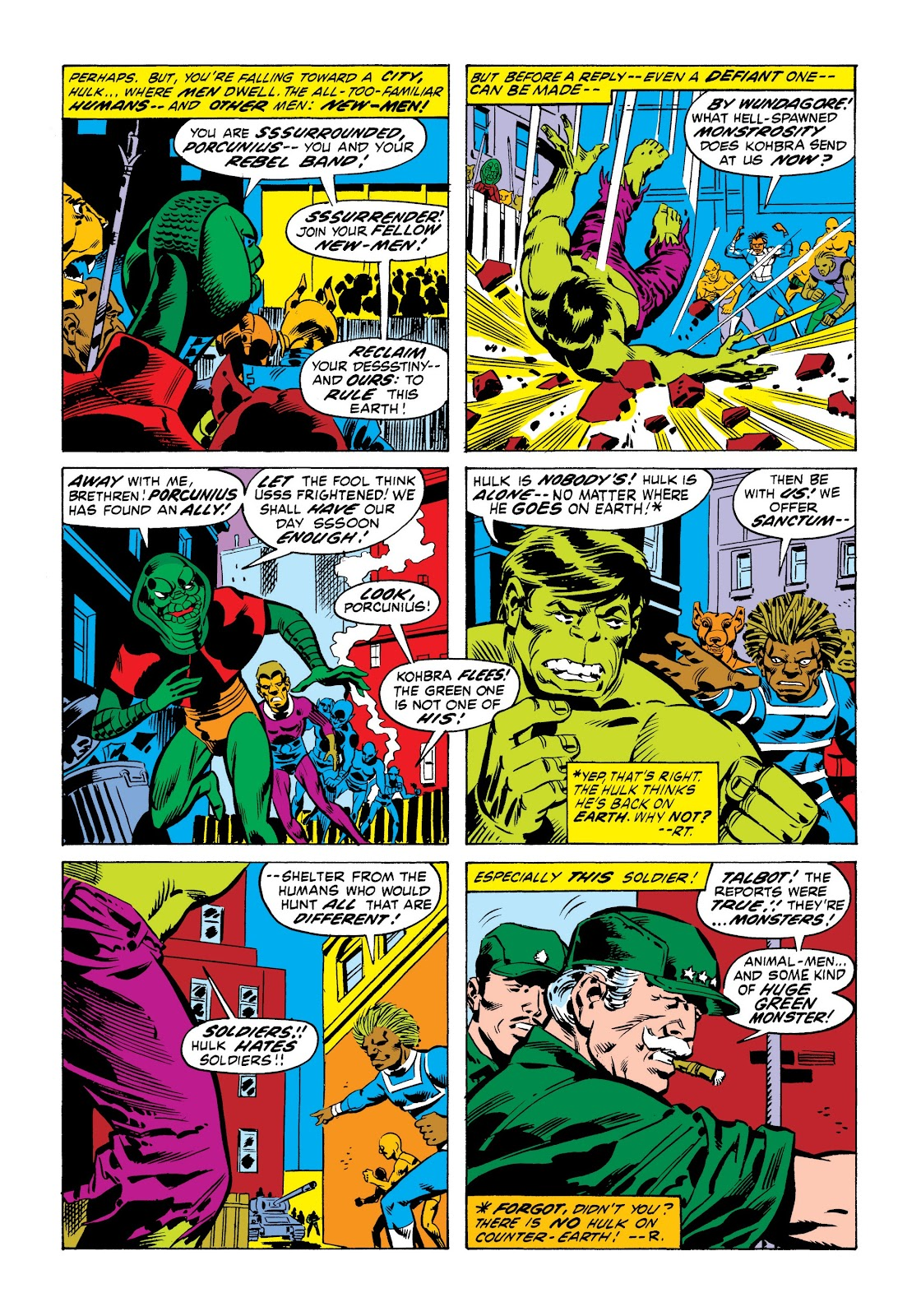 Read online Marvel Masterworks: The Incredible Hulk comic -  Issue # TPB 9 (Part 1) - 37