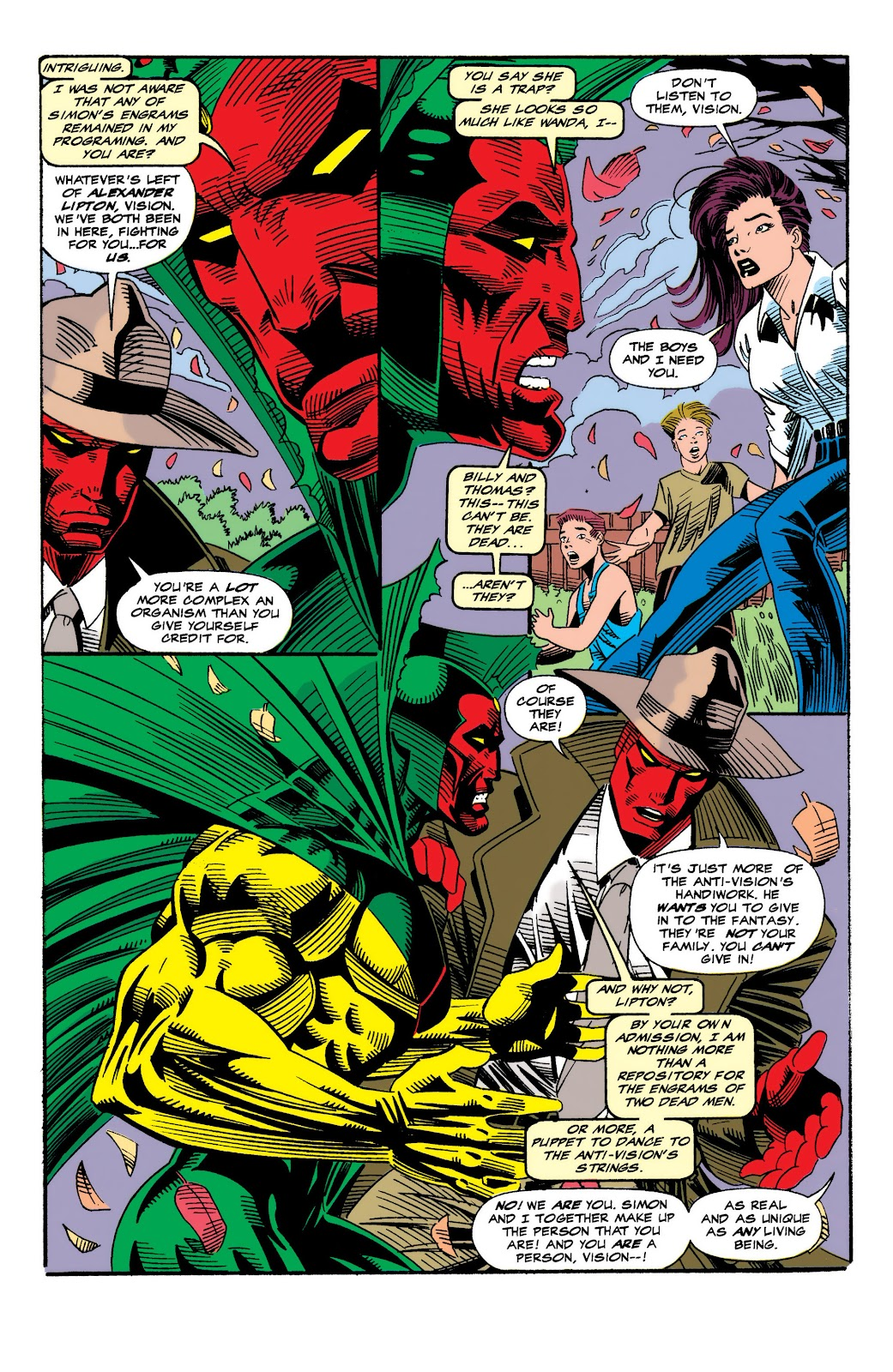 Read online The Vision comic -  Issue #4 - 11