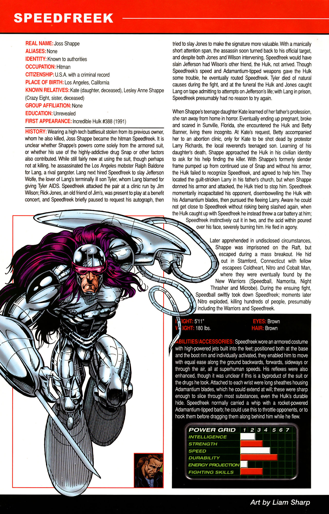 Read online All-New Official Handbook of the Marvel Universe A to Z: Update comic -  Issue #1 - 49