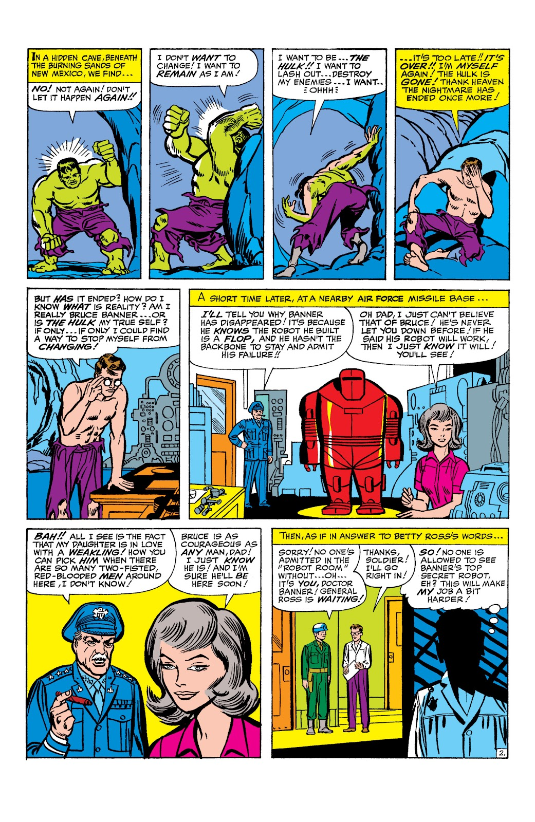 Read online Marvel Masterworks: The Incredible Hulk comic -  Issue # TPB 2 (Part 1) - 25