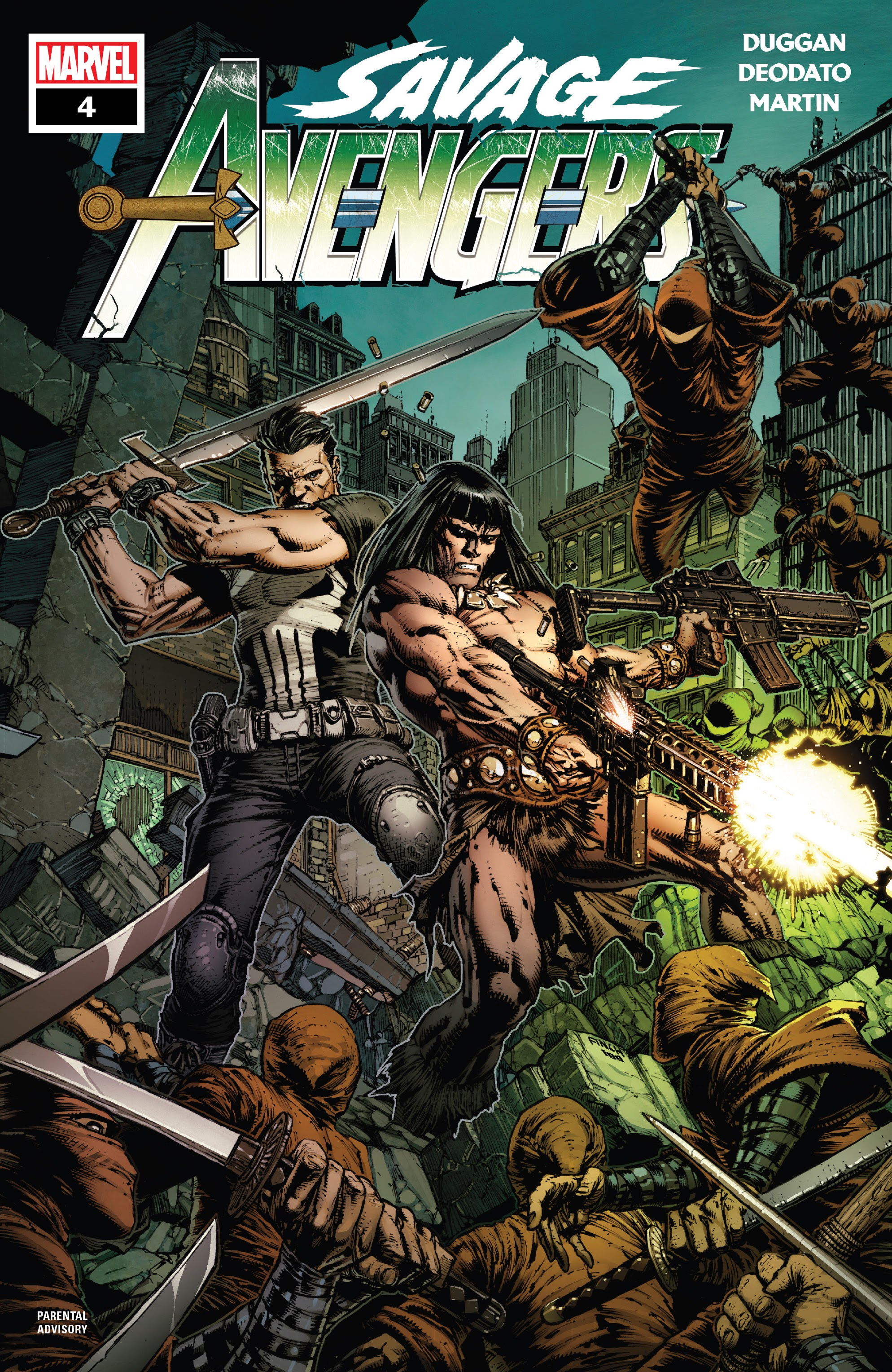 Savage Avengers 4 Page 1