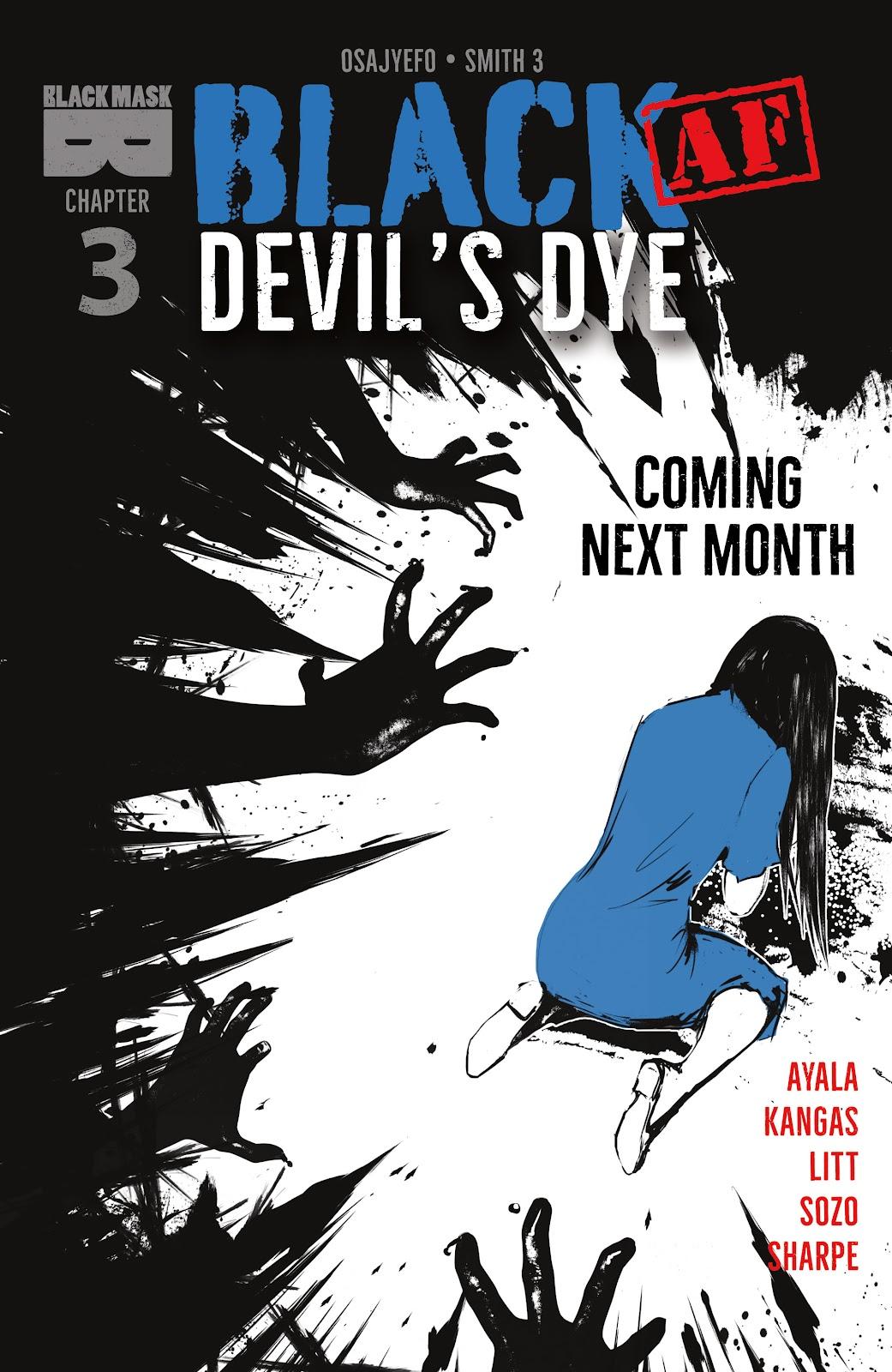Read online Black (AF): Devil's Dye comic -  Issue #2 - 27