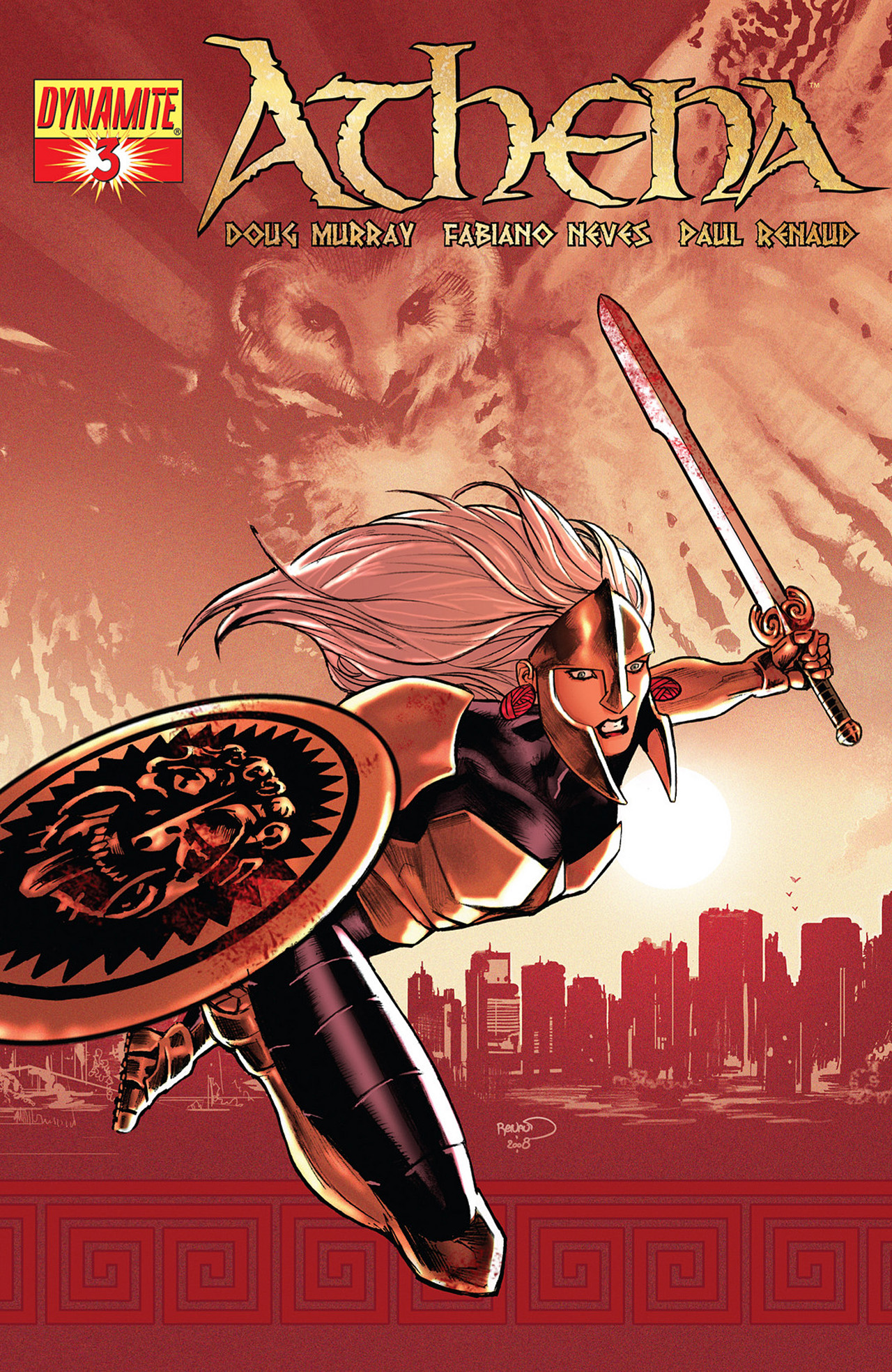 Read online Athena comic -  Issue #3 - 1