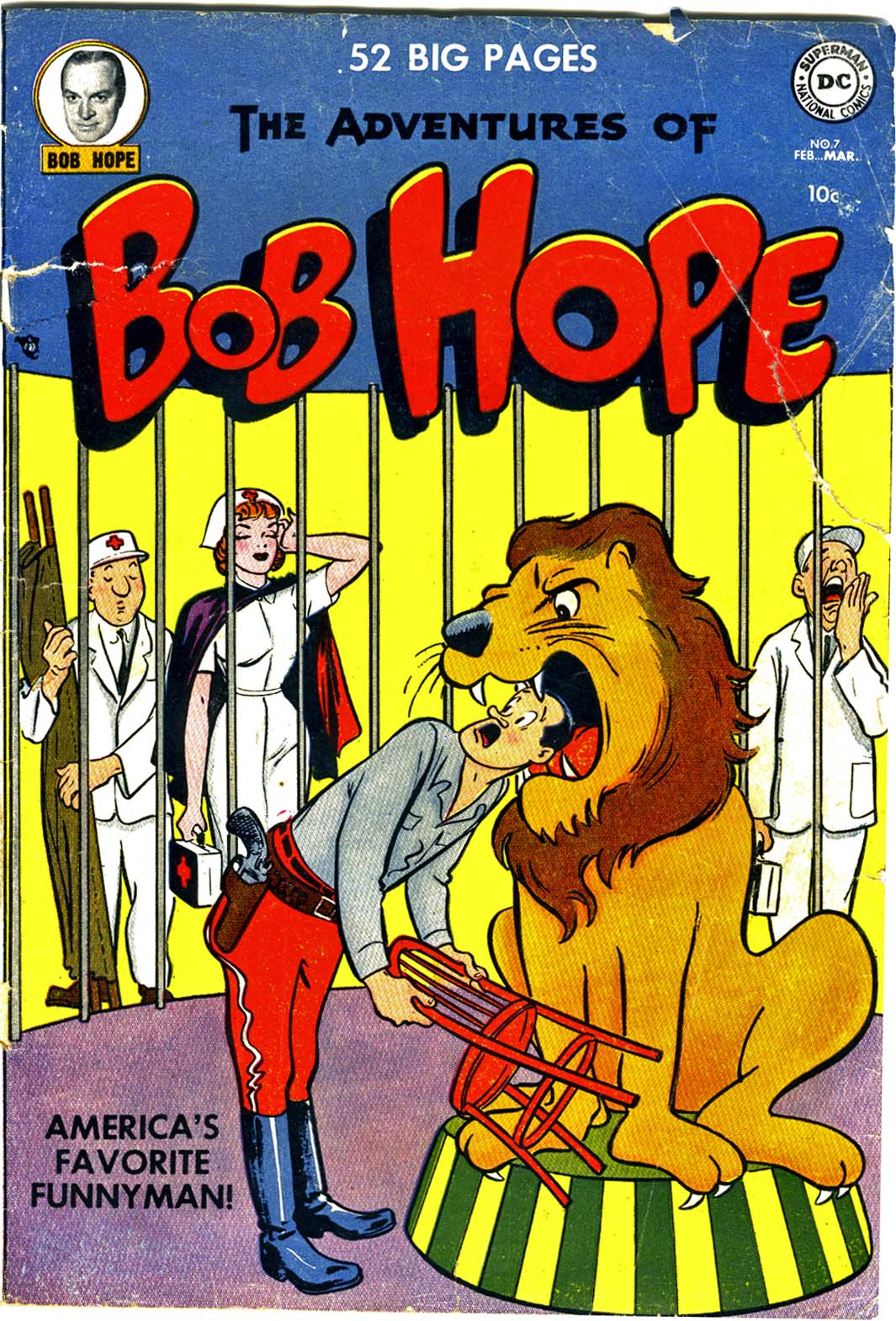 The Adventures of Bob Hope issue 7 - Page 1