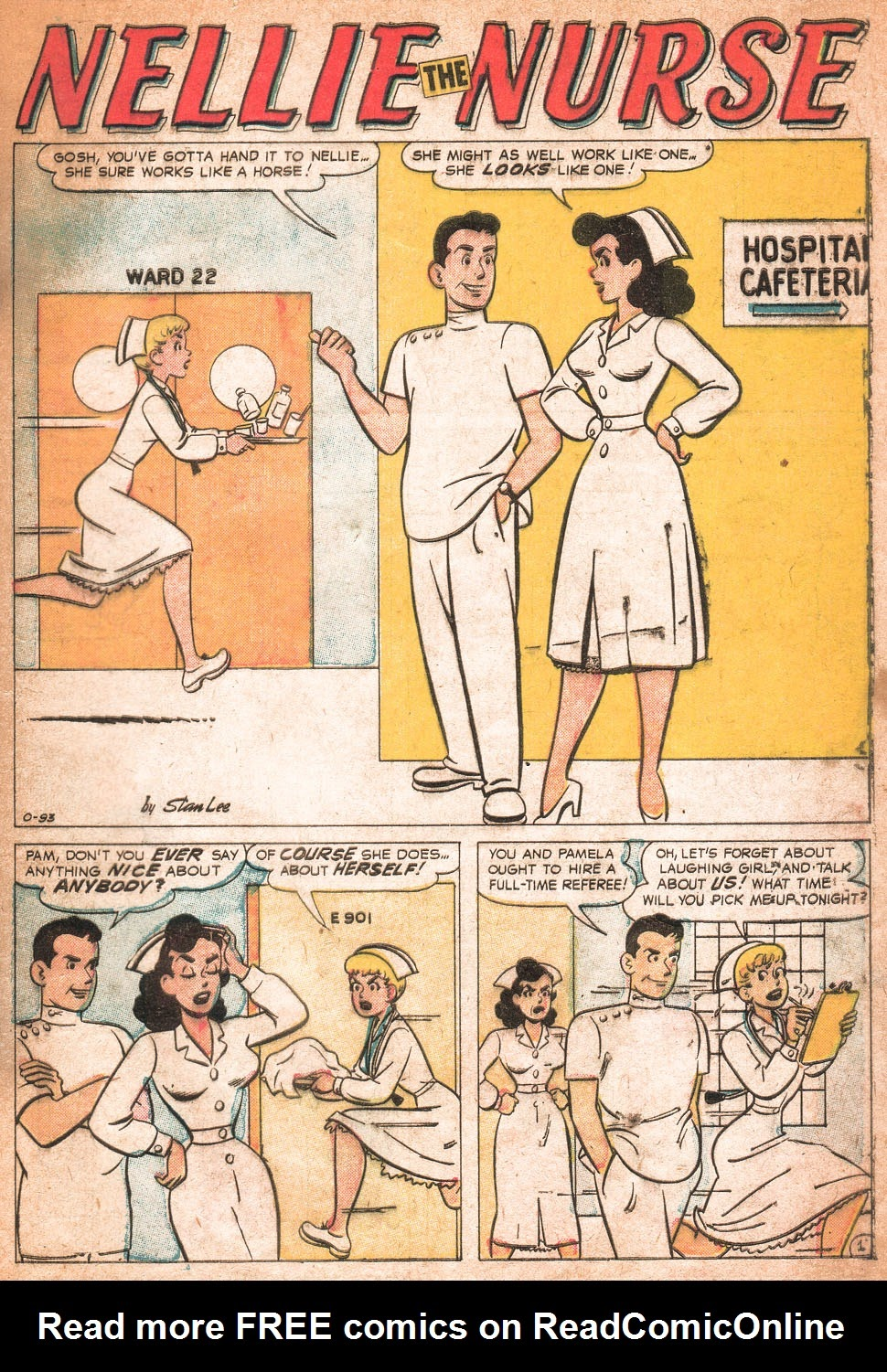 Read online Nellie The Nurse (1957) comic -  Issue # Full - 30