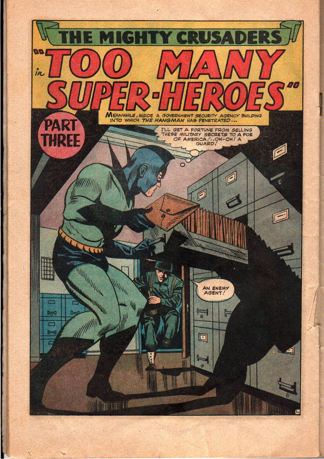 The Mighty Crusaders (1965) Issue #4 #4 - English 16