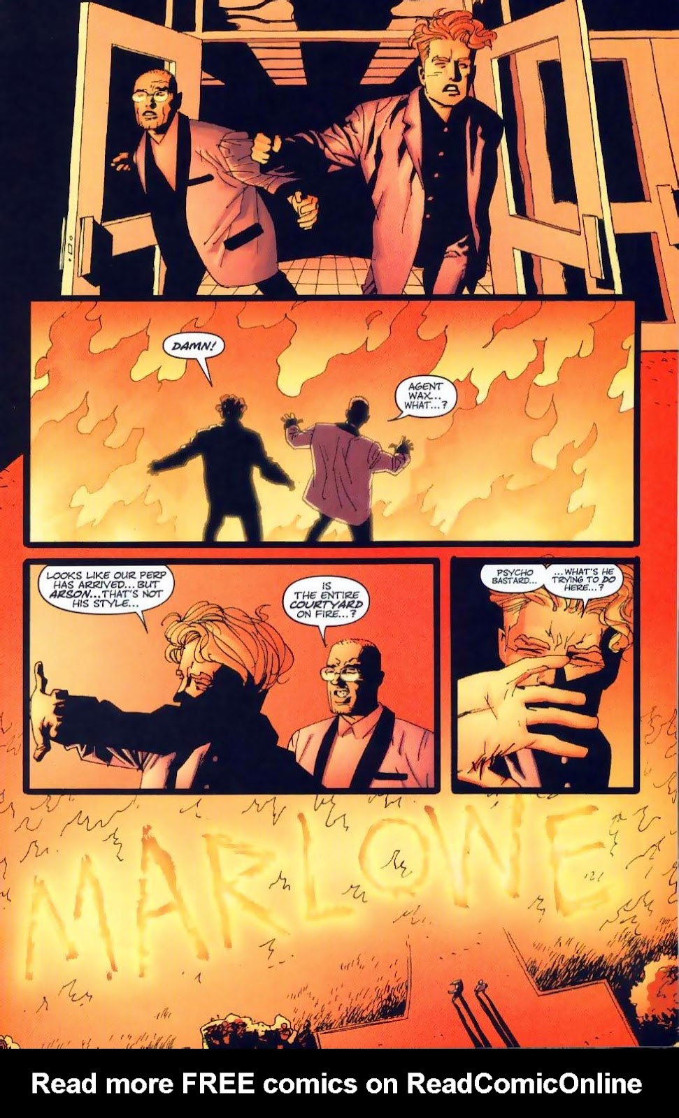 Wildcats (1999) Issue #19 #20 - English 7