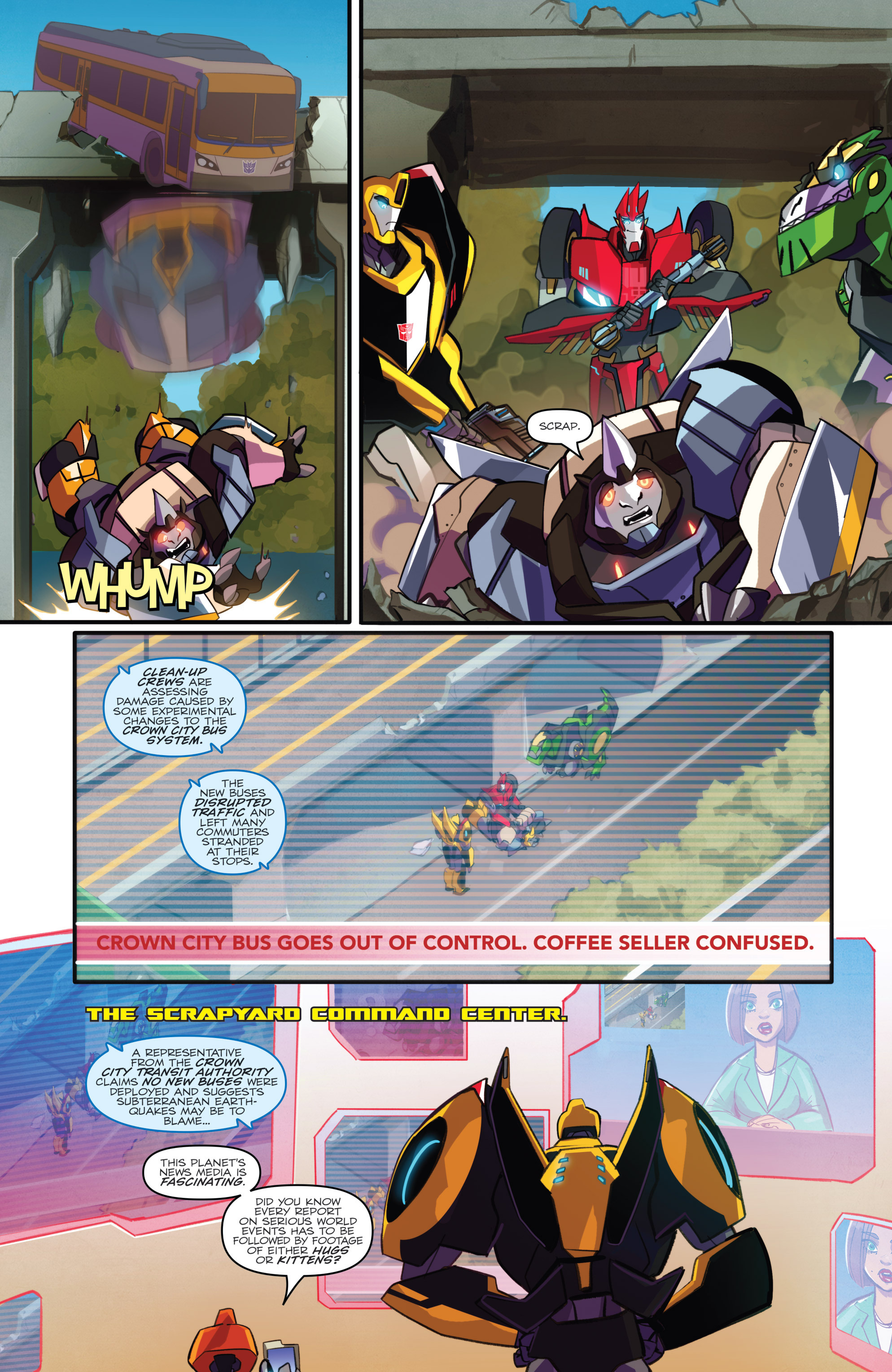 Read online Transformers: Robots In Disguise (2015) comic -  Issue #2 - 10