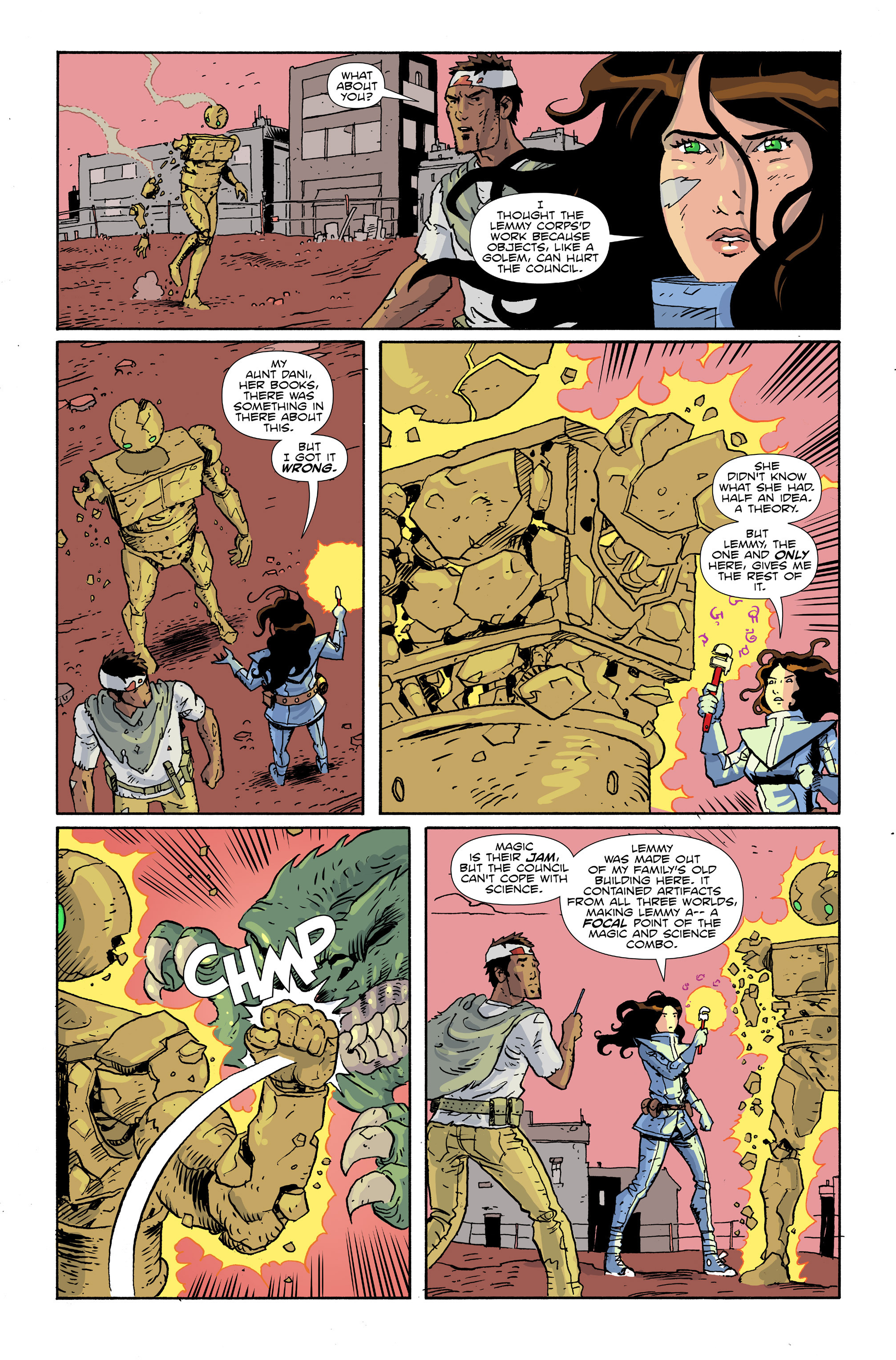 Read online Amelia Cole Versus The End of Everything comic -  Issue #28 - 9