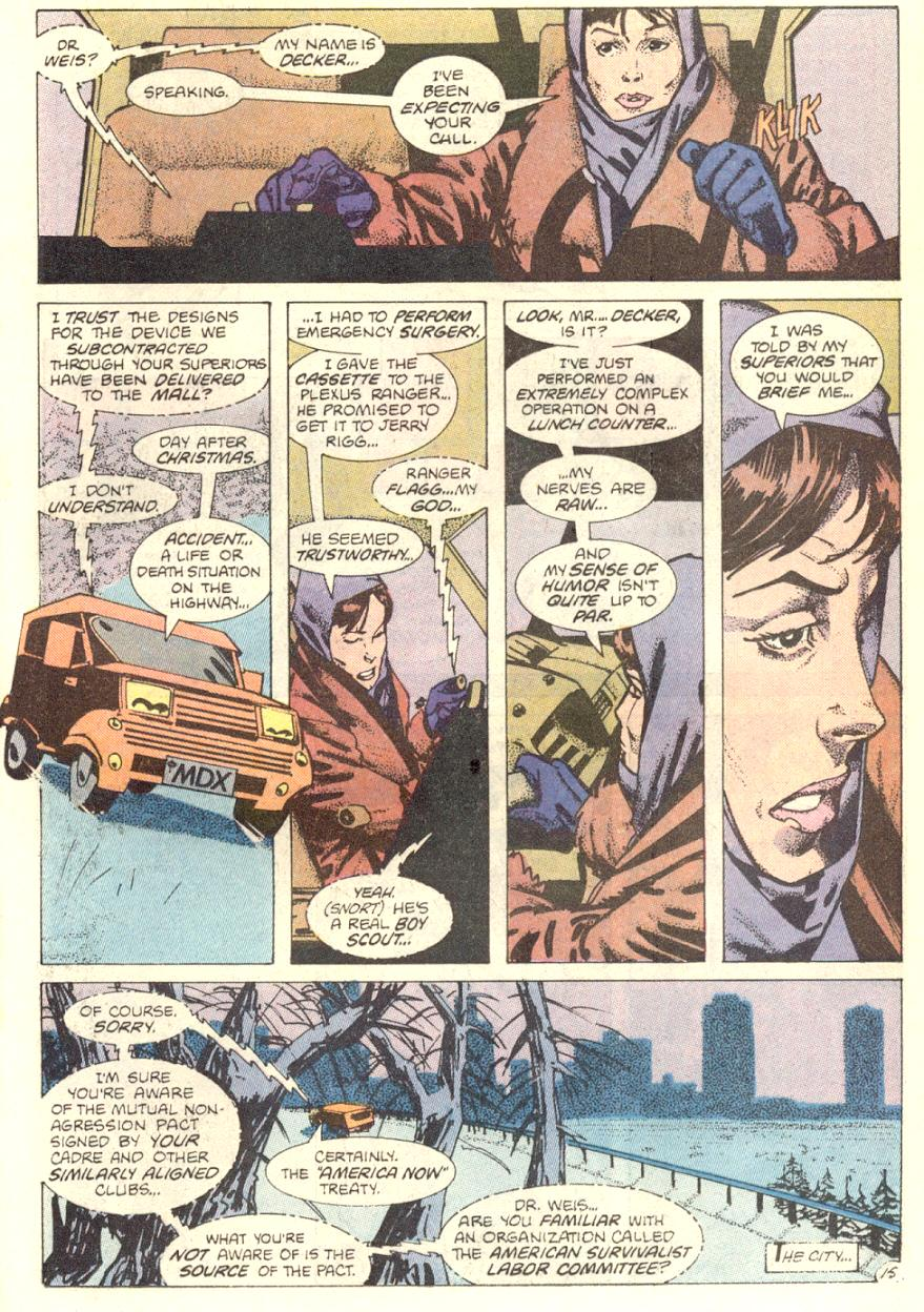 Read online American Flagg! comic -  Issue #7 - 16