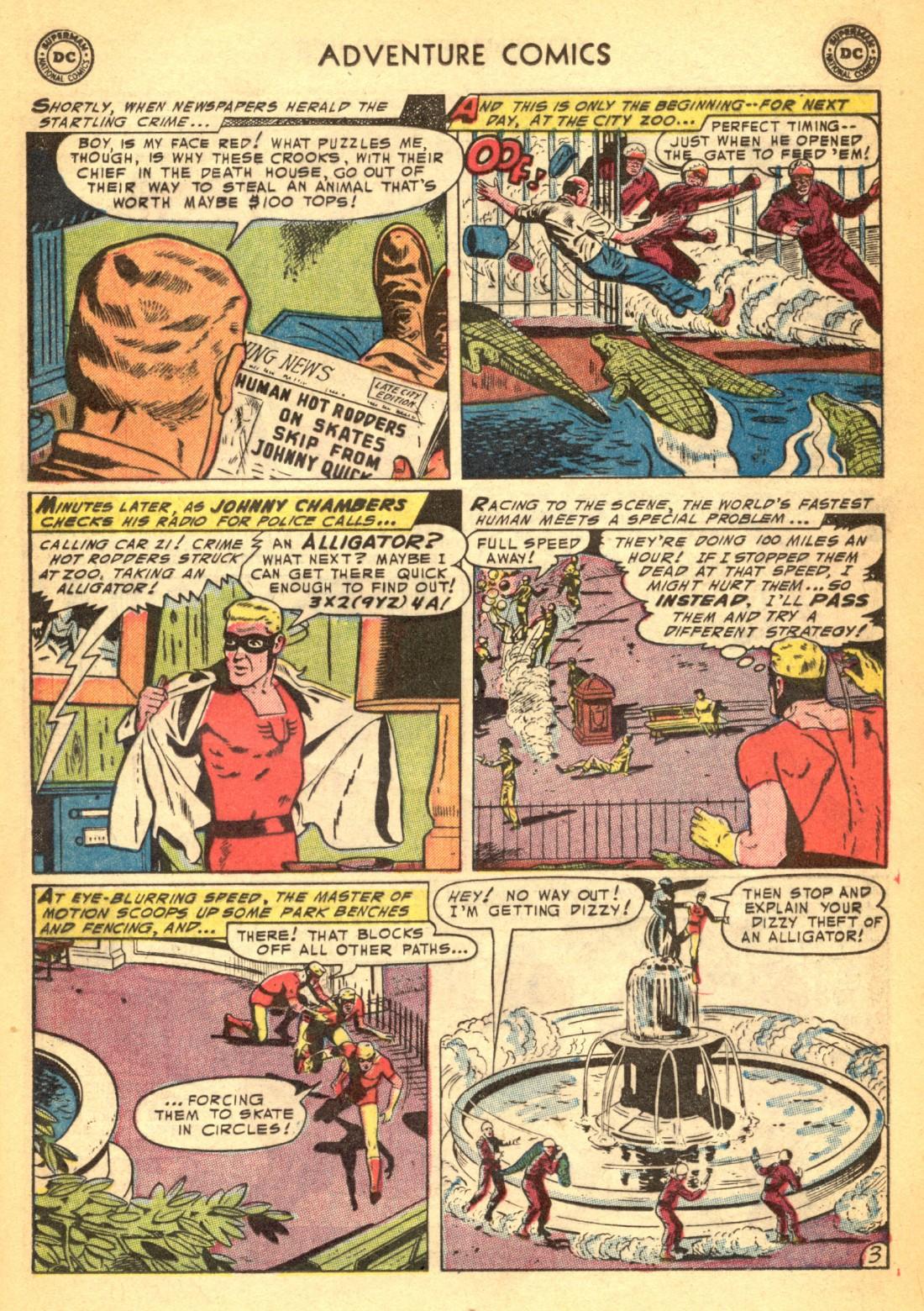 Read online Adventure Comics (1938) comic -  Issue #202 - 19