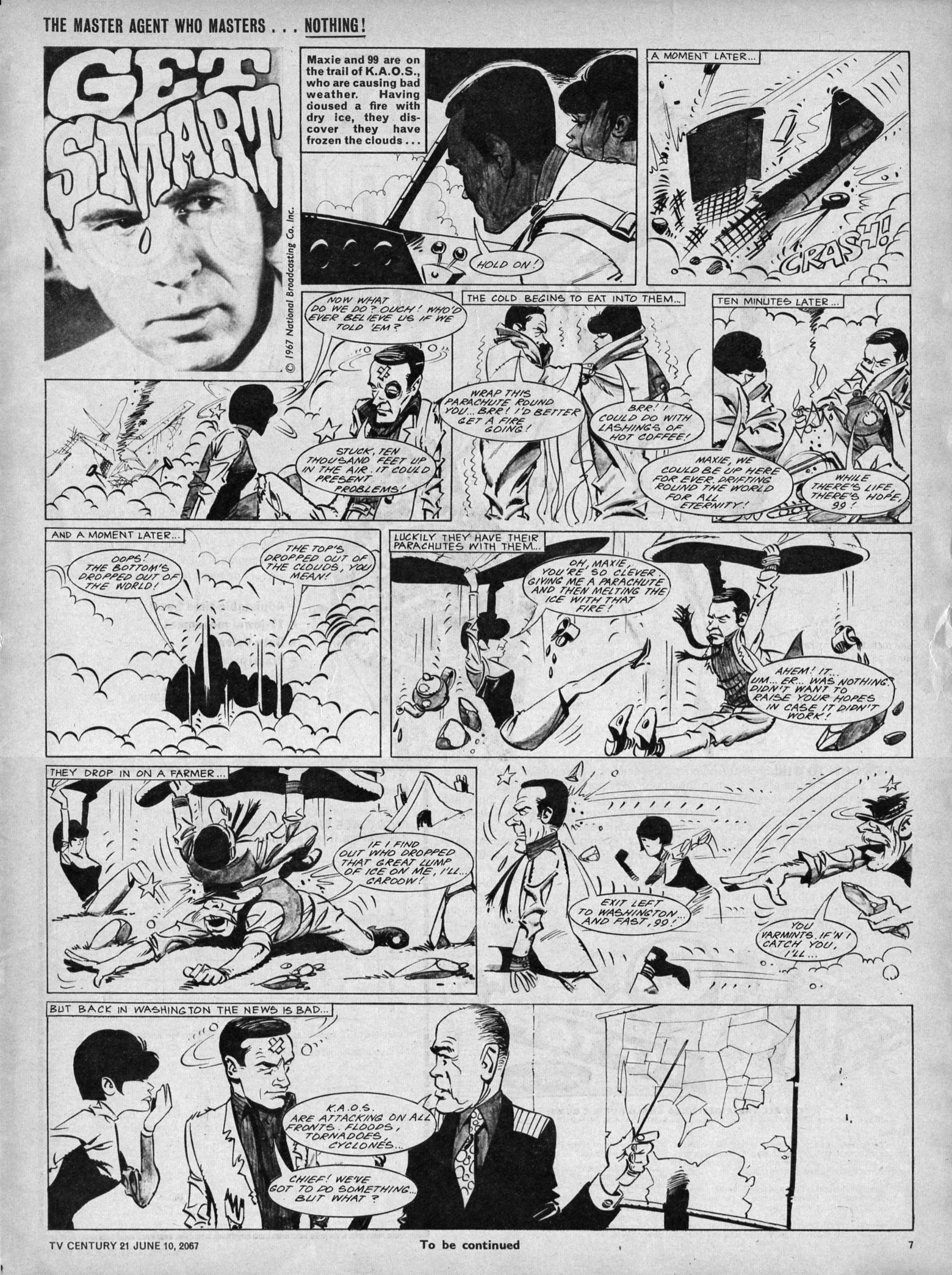Read online TV Century 21 (TV 21) comic -  Issue #125 - 7