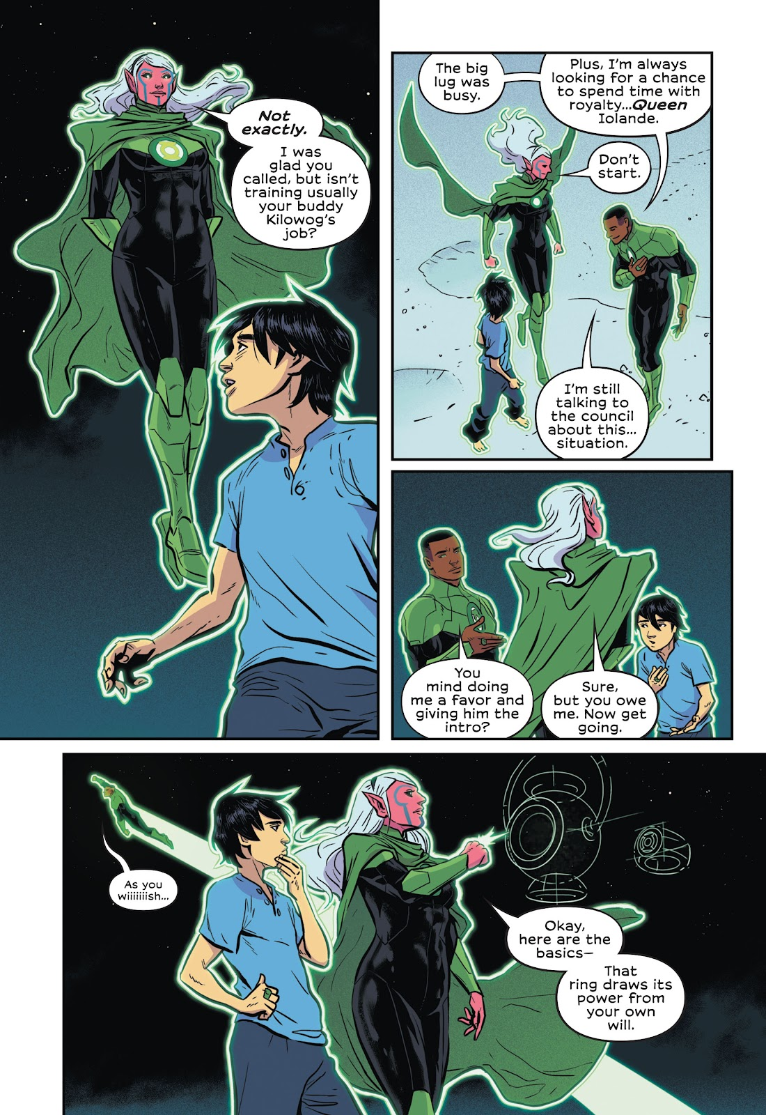 Read online Green Lantern: Legacy comic -  Issue # TPB - 54
