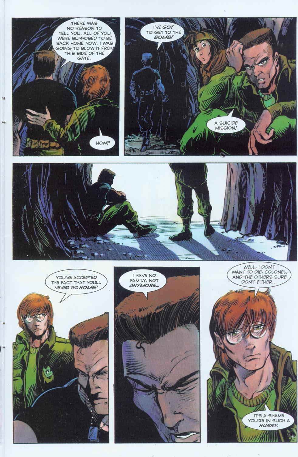 Read online Stargate comic -  Issue #3 - 23