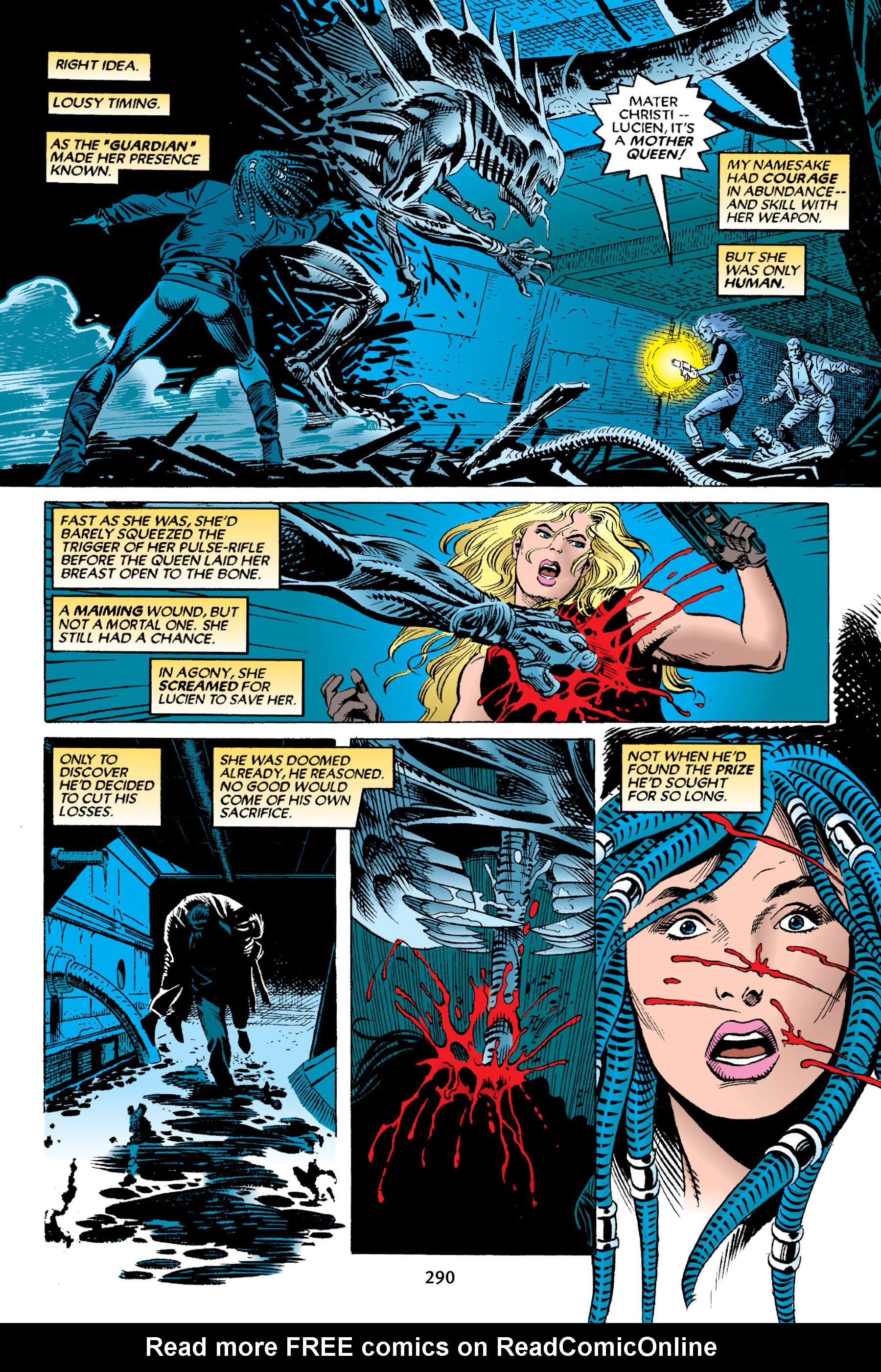 Read online Aliens vs. Predator Omnibus comic -  Issue # _TPB 2 Part 3 - 65