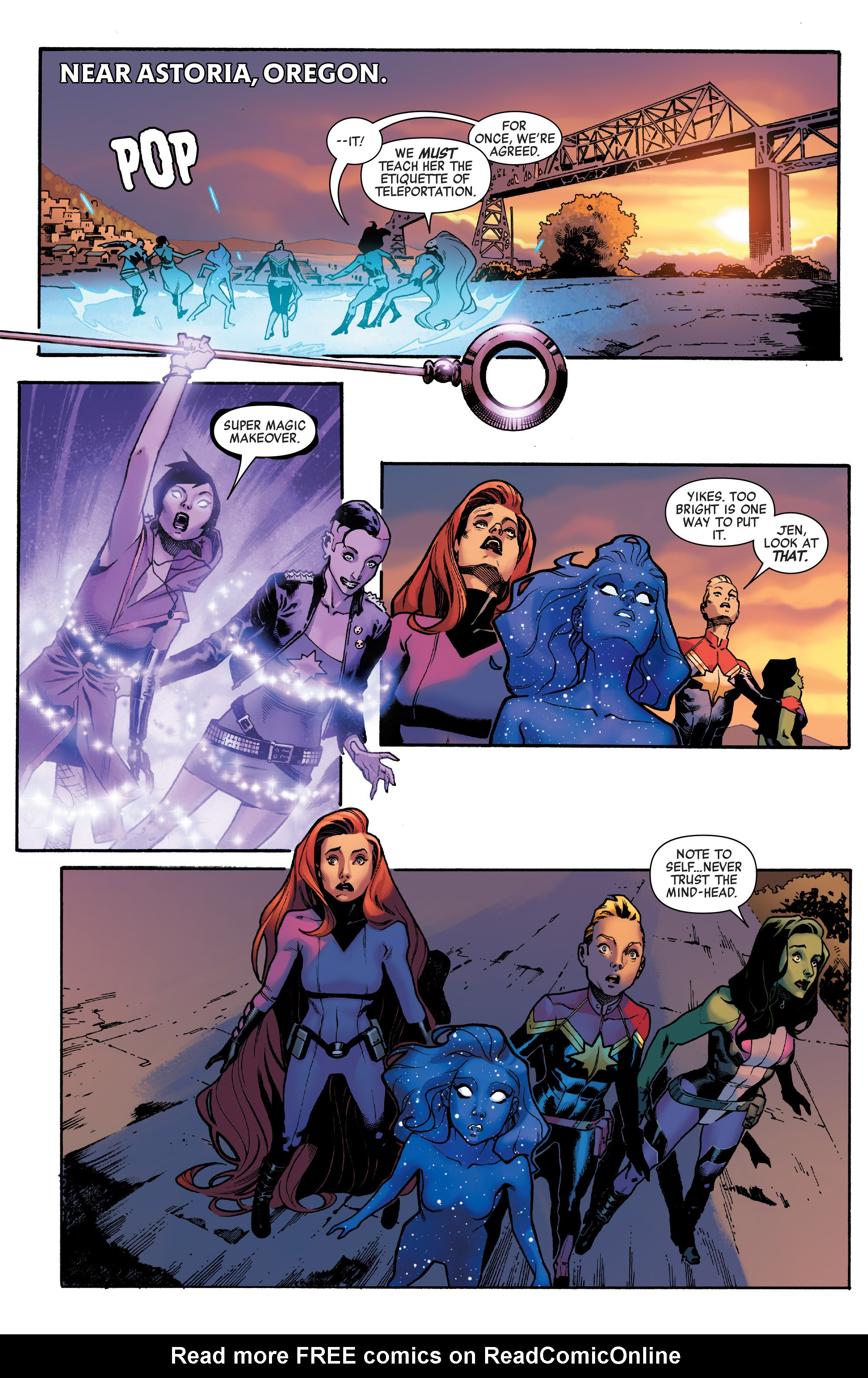 Read online A-Force (2016) comic -  Issue #4 - 20