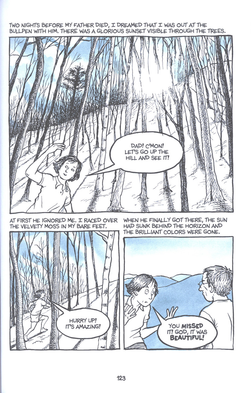 Read online Fun Home: A Family Tragicomic comic -  Issue # TPB - 129