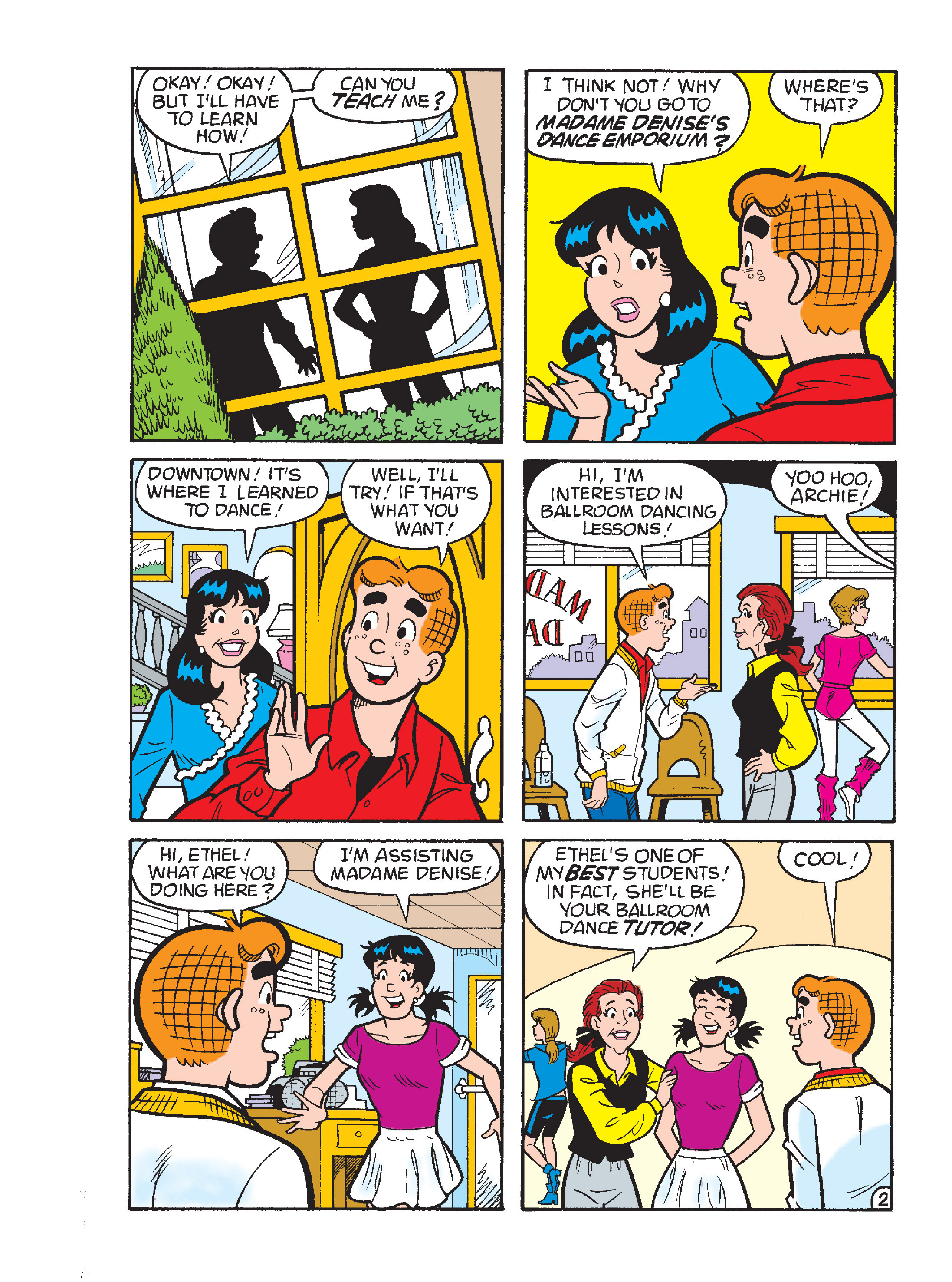 Read online Archie's Funhouse Double Digest comic -  Issue #17 - 105