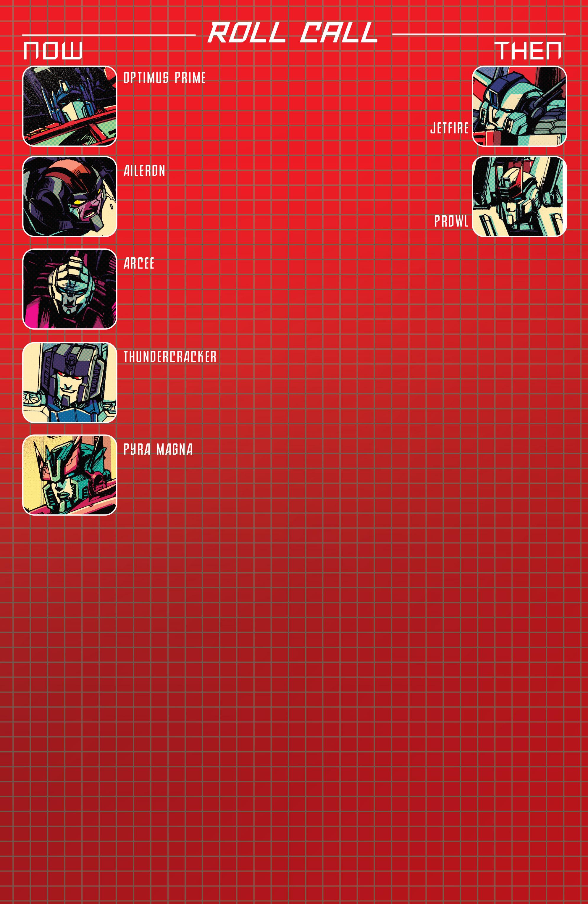 Read online Optimus Prime comic -  Issue #7 - 4