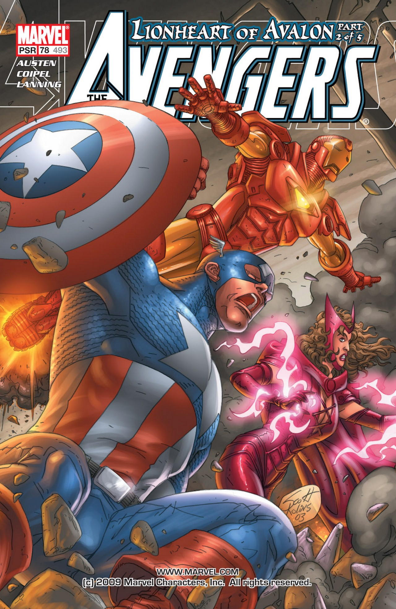 Read online Avengers (1998) comic -  Issue #78 - 1