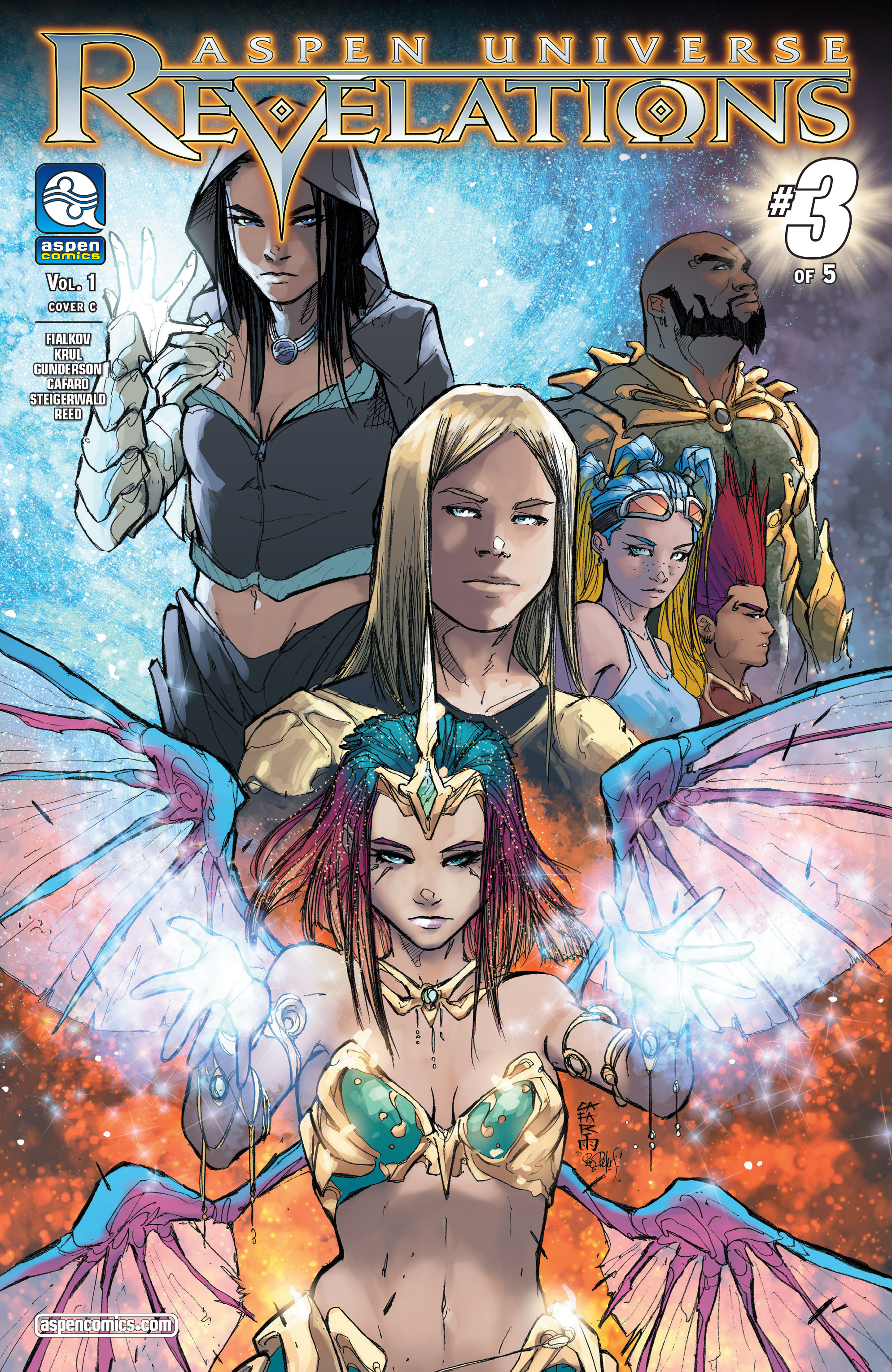 Read online Aspen Universe: Revelations comic -  Issue #3 - 3