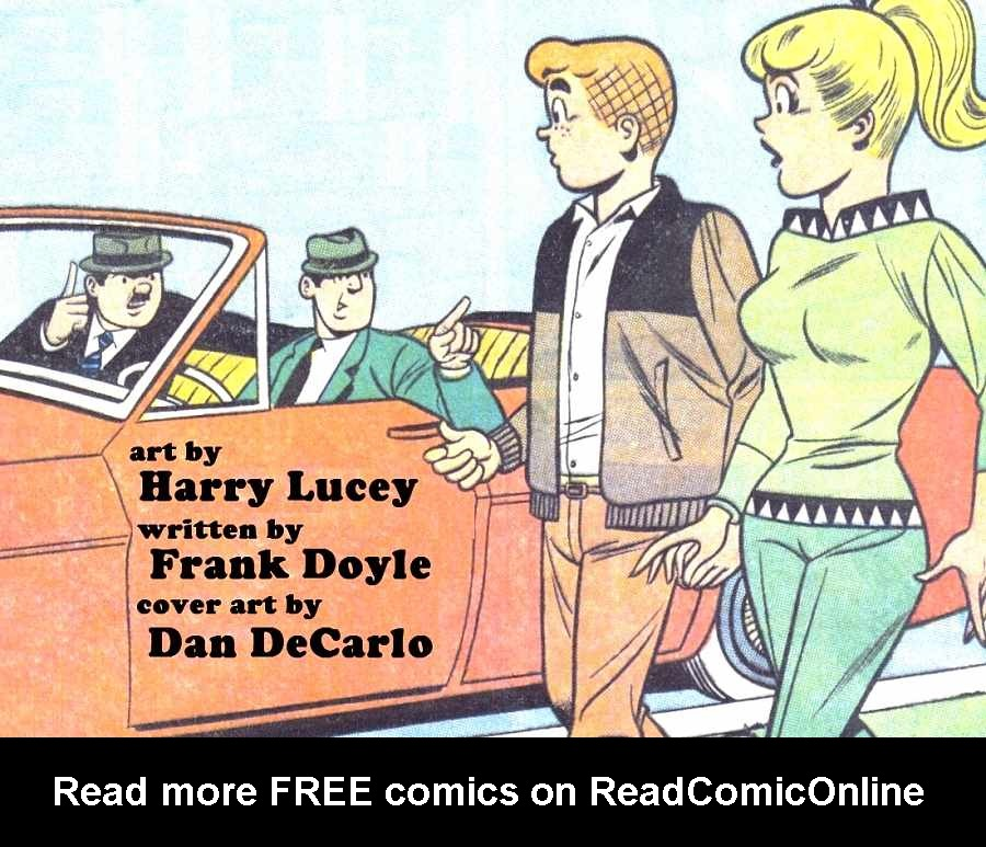 Read online Archie (1960) comic -  Issue #164 - 37