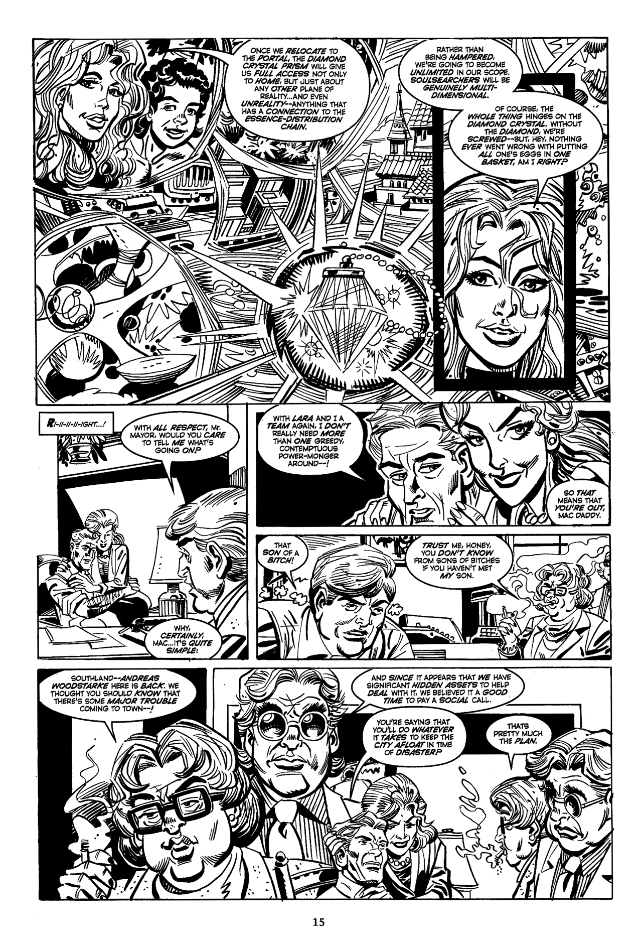 Soulsearchers and Company issue 82 - Page 17