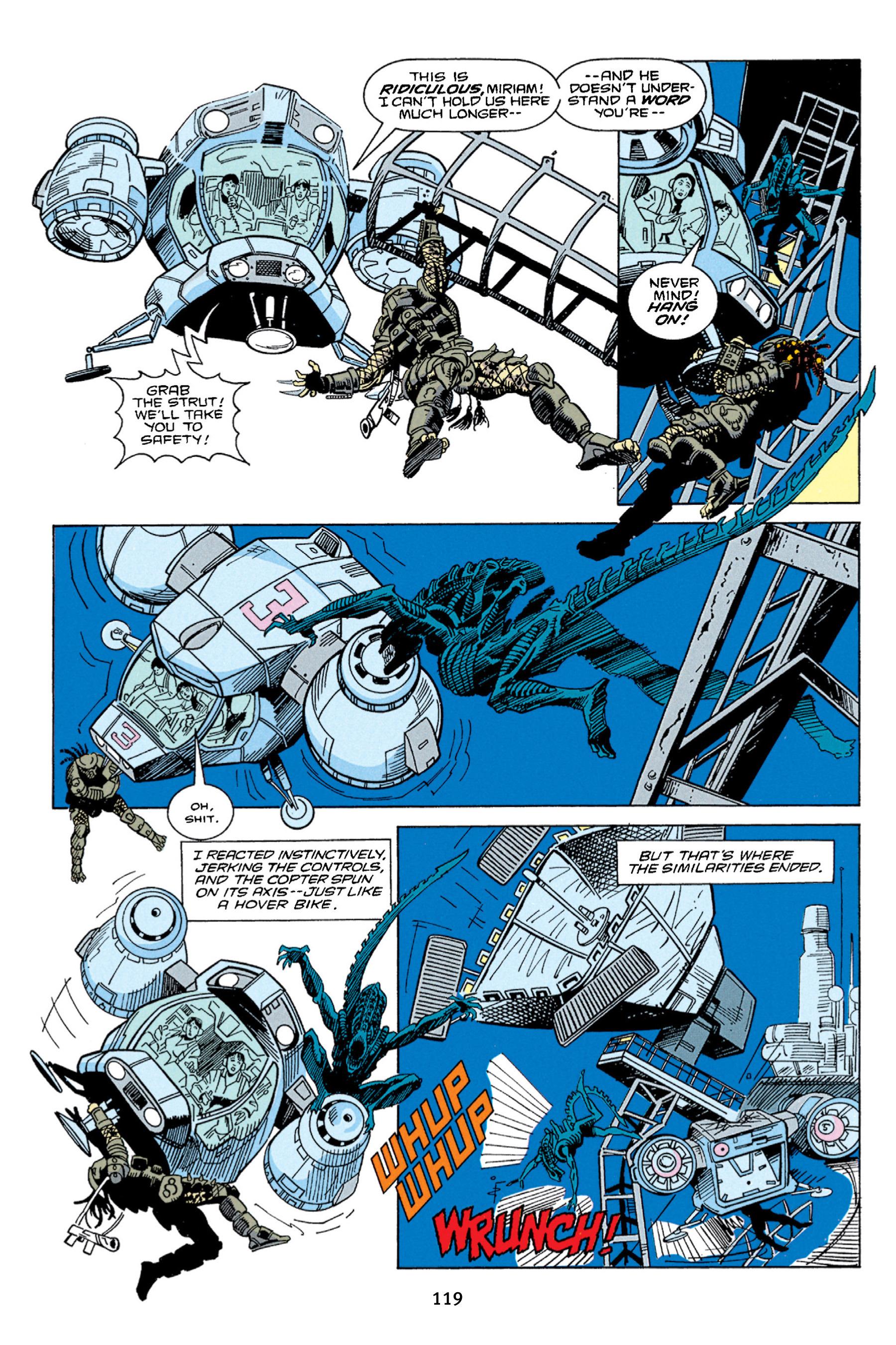 Read online Aliens vs. Predator Omnibus comic -  Issue # _TPB 1 Part 2 - 18