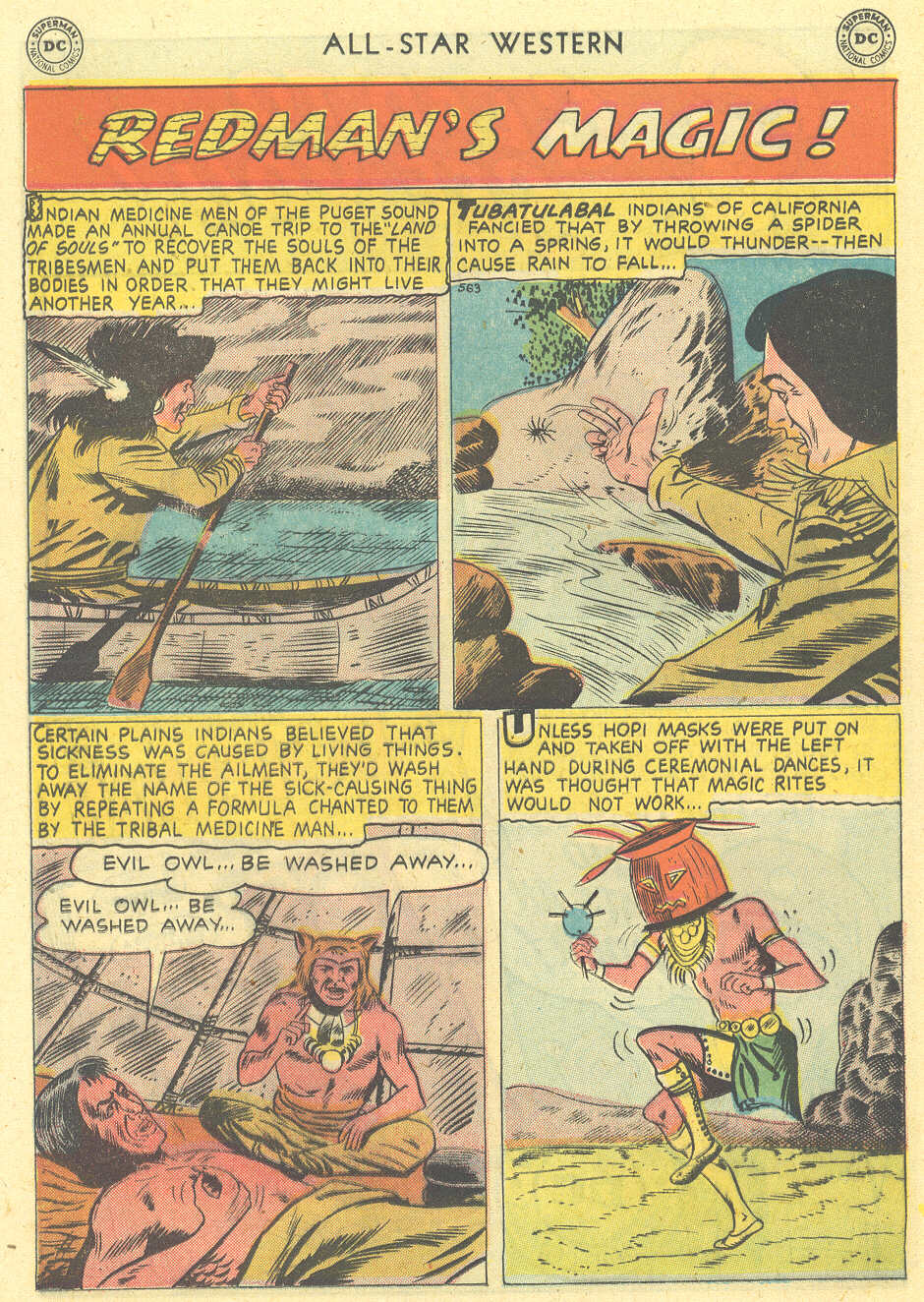 Read online All-Star Western (1951) comic -  Issue #101 - 16