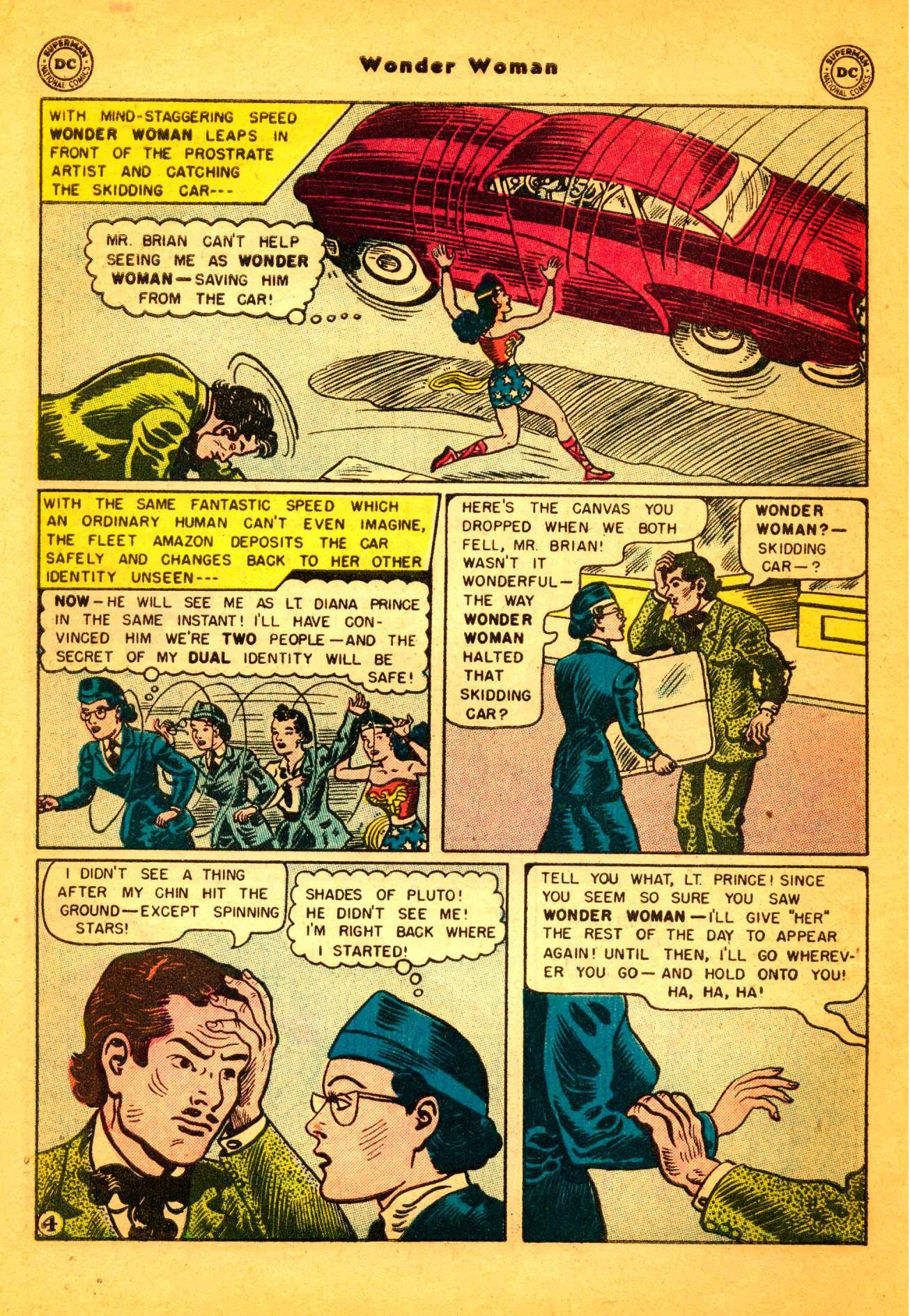 Read online Wonder Woman (1942) comic -  Issue #86 - 5