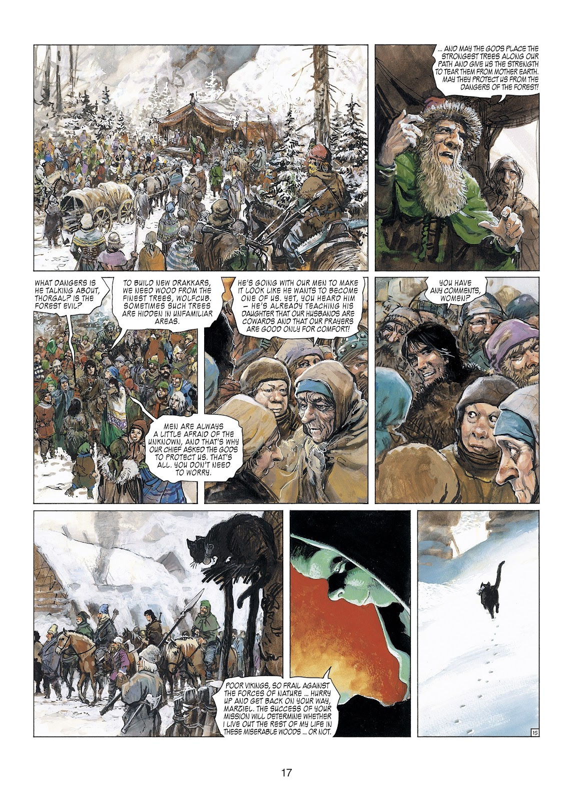 Read online Thorgal comic -  Issue #23 - 19