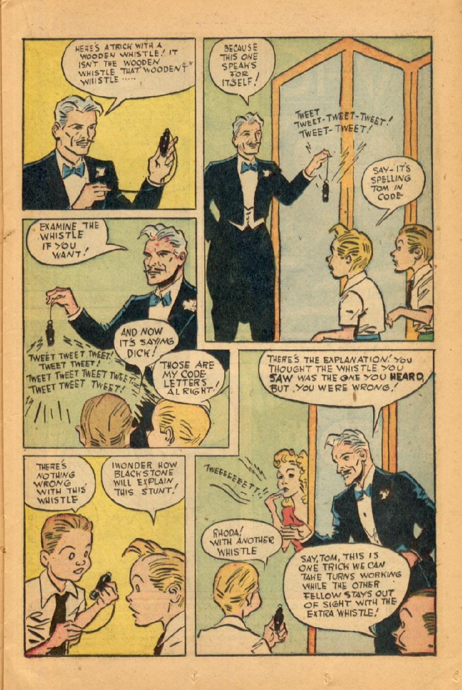 Read online Super-Magician Comics comic -  Issue #45 - 21