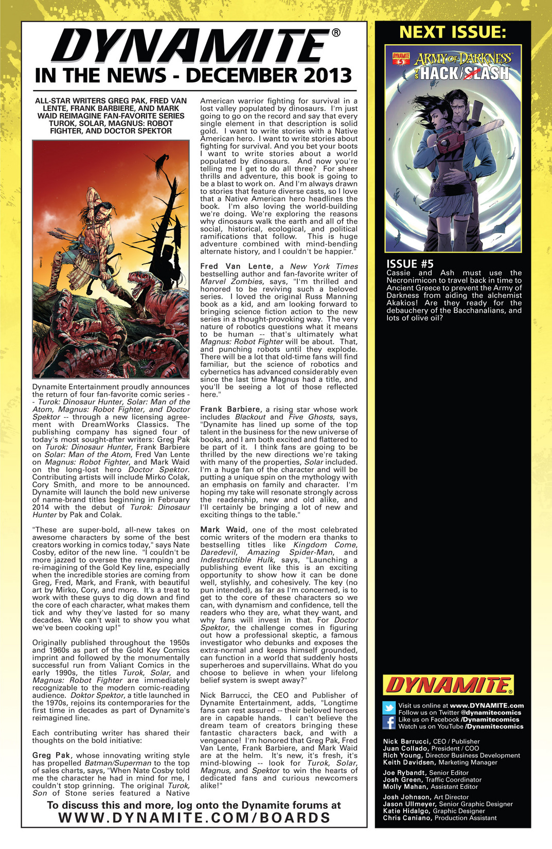 Read online Army of Darkness vs. Hack/Slash comic -  Issue #4 - 25