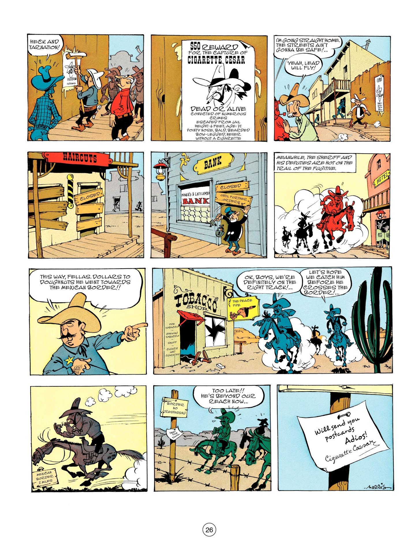 Read online A Lucky Luke Adventure comic -  Issue #55 - 26