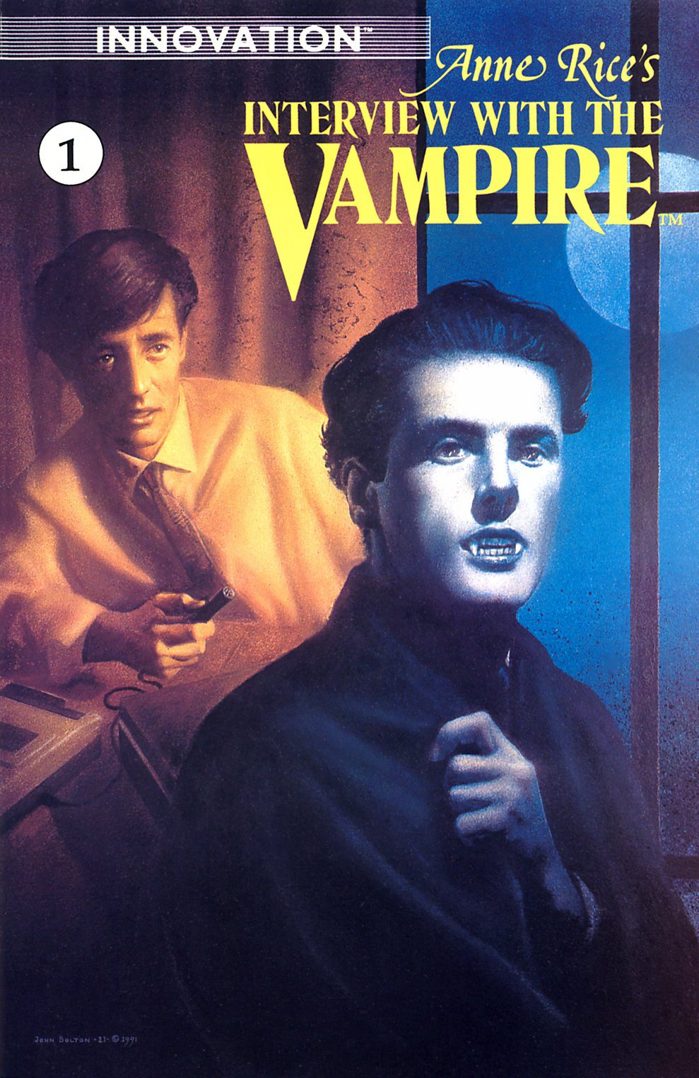 Read online Anne Rice's Interview with the Vampire comic -  Issue #1 - 1