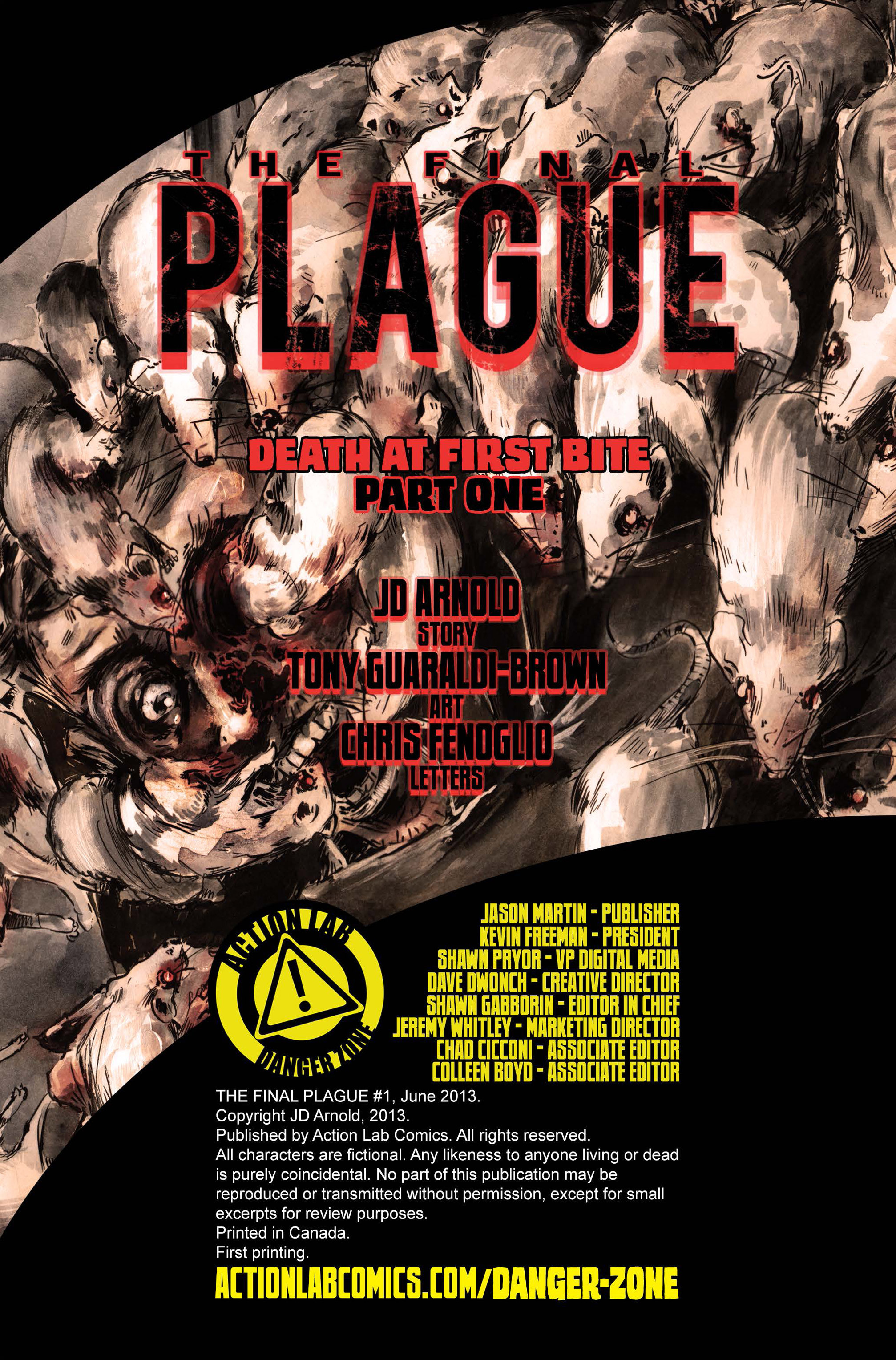 Read online The Final Plague comic -  Issue #1 - 2