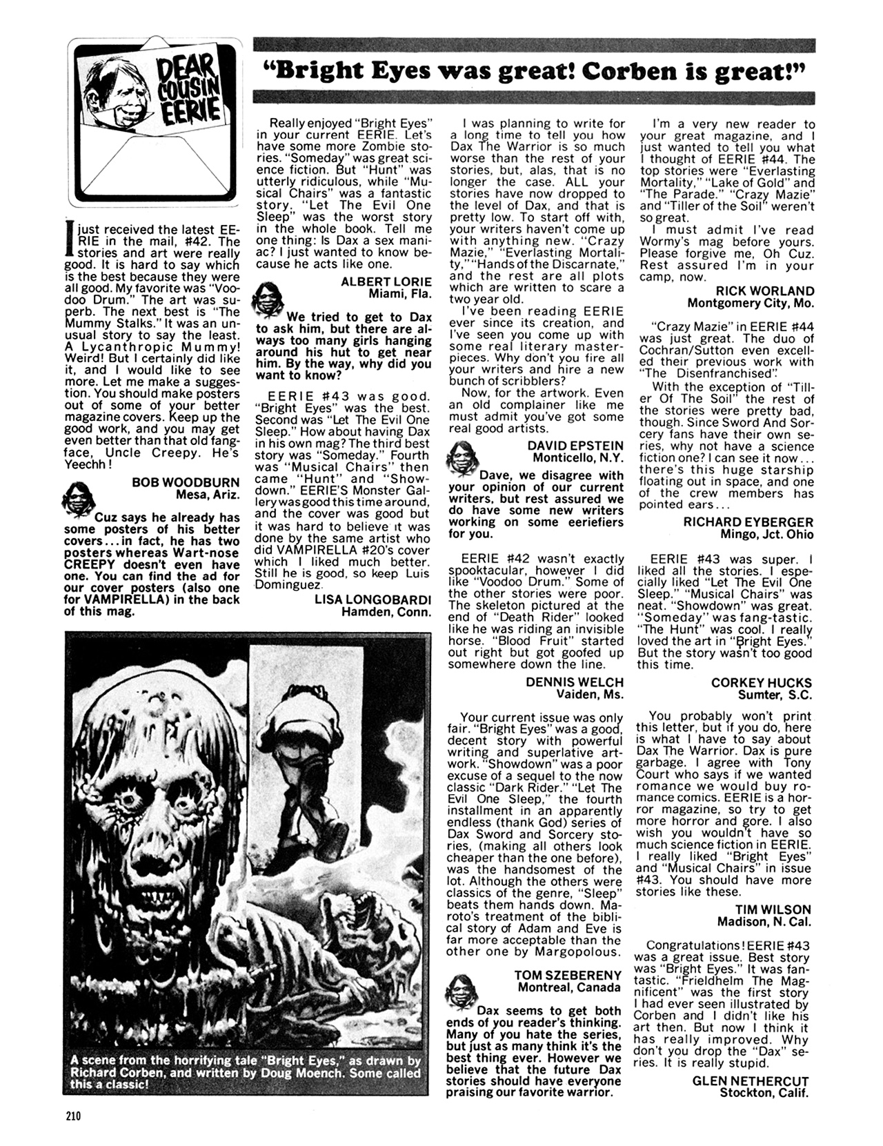 Read online Eerie Archives comic -  Issue # TPB 9 - 211