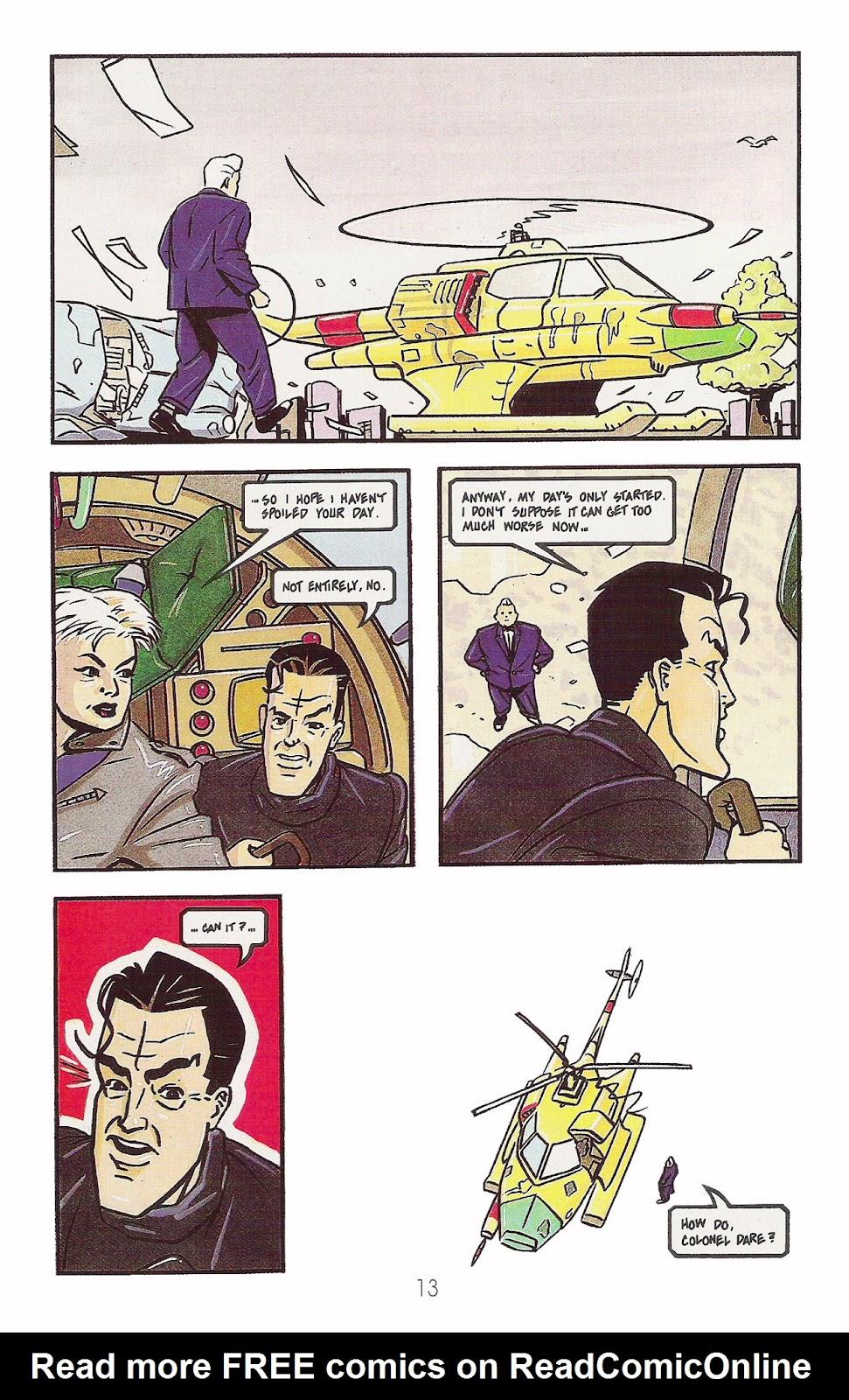 Read online Dare comic -  Issue #2 - 14