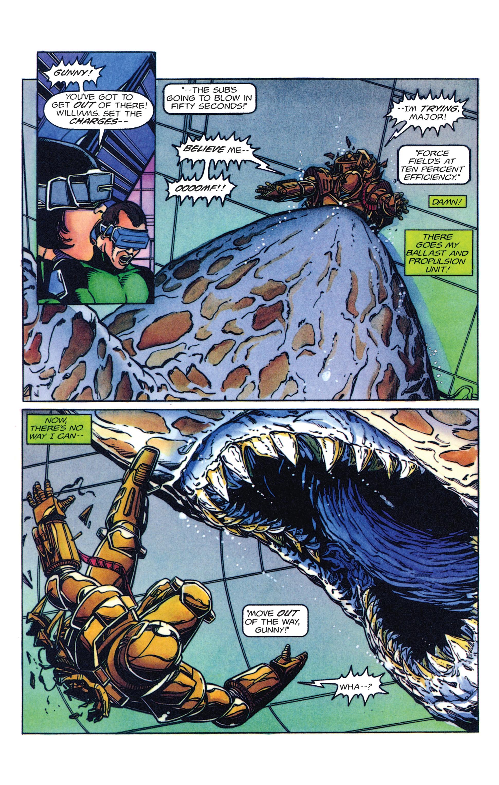 Read online Armorines comic -  Issue #2 - 18
